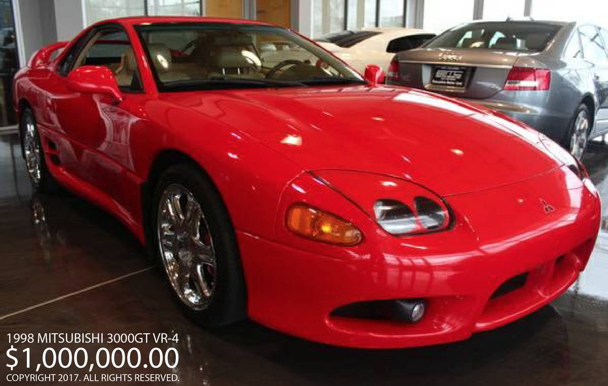 Craigslister Reposts Mitsubishi 3000gt For Sale Doubles Price To 1