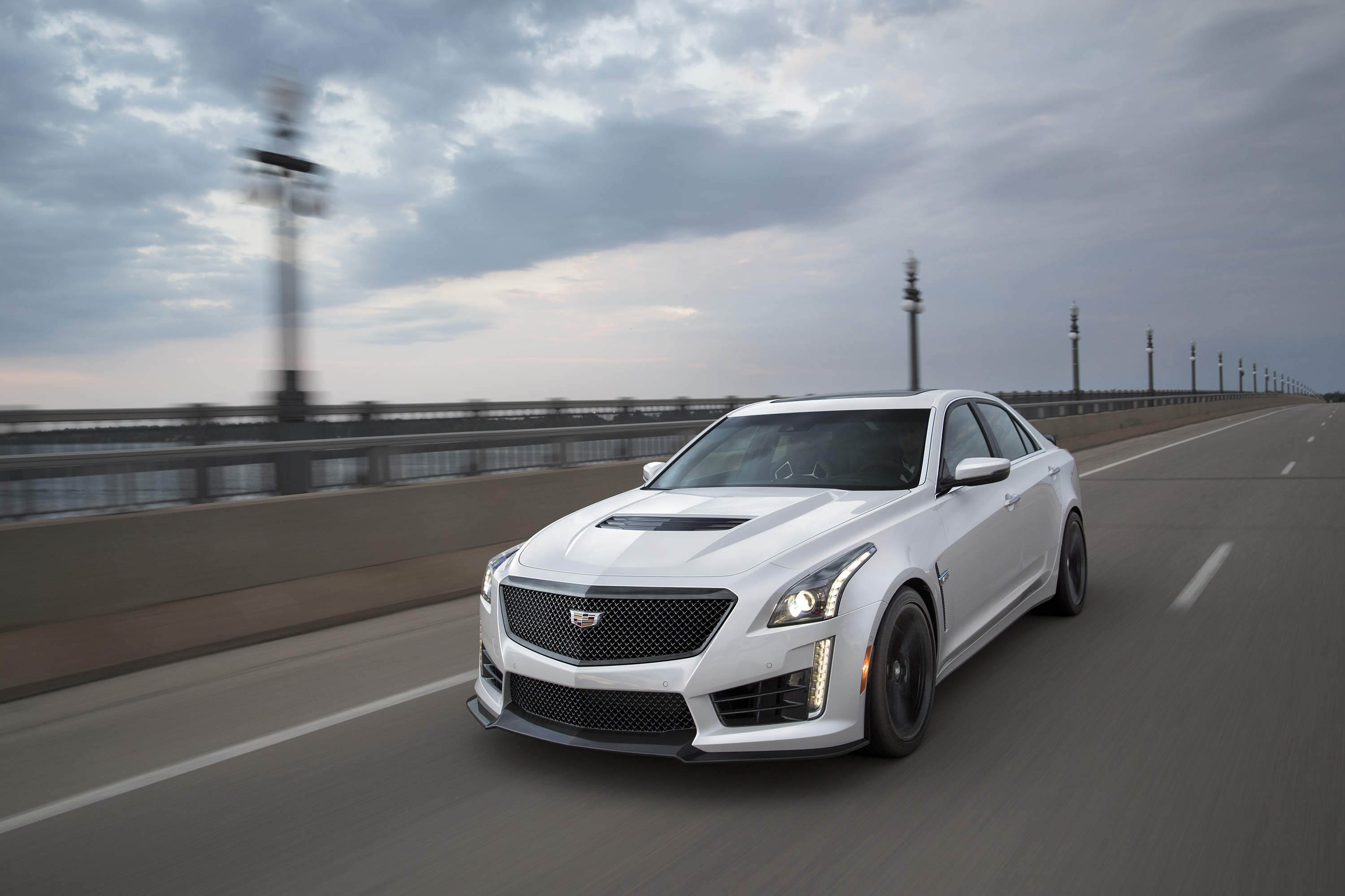the cts cadillac any than v hellcat crazier sedan is