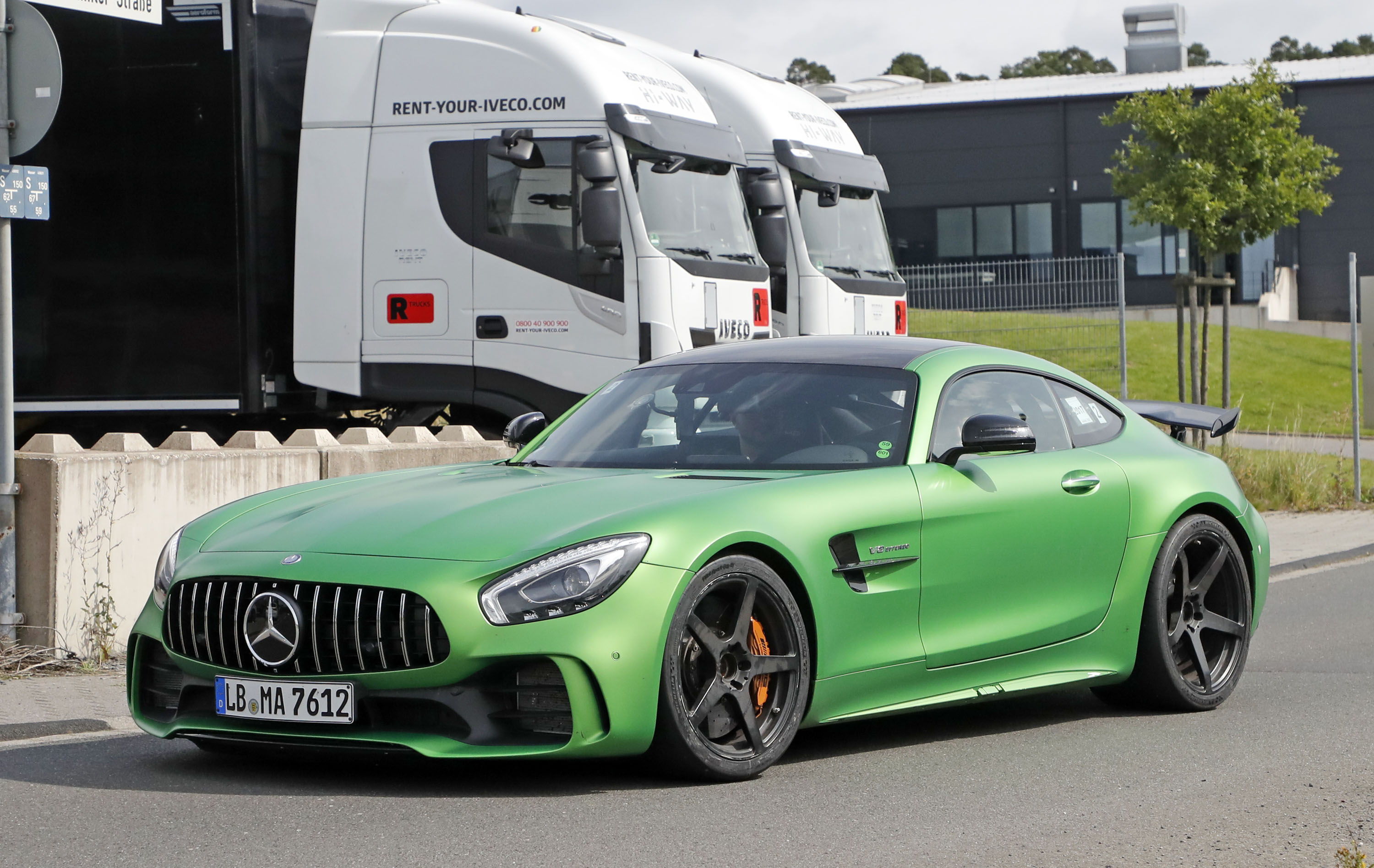 Now That Mercedes Has Launched the AMG GT 4 Door the AMG GT Black Series Will Follow by 2020
