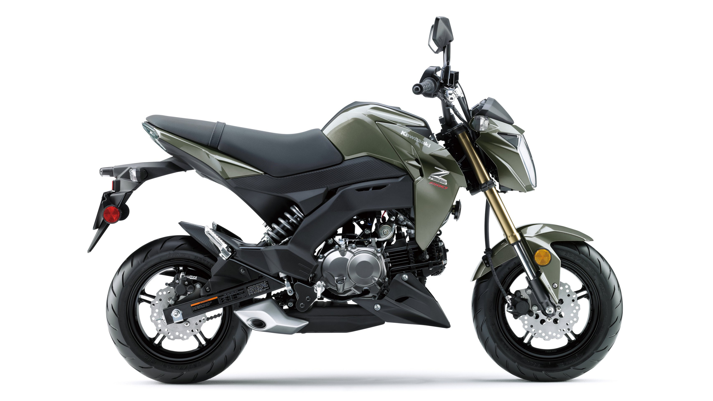 2017 2018 Kawasaki Z125 Pro Top Speed