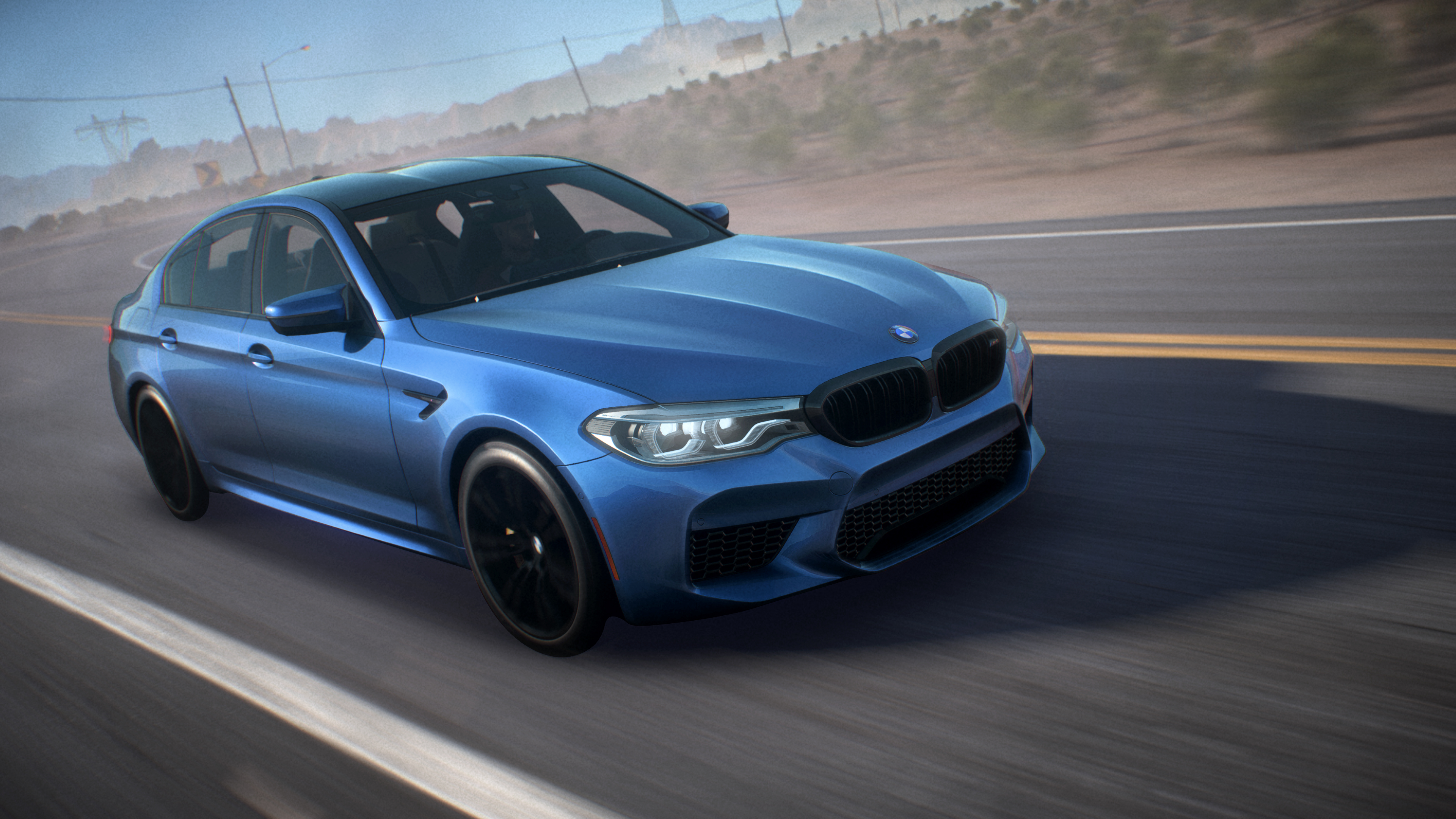 Drive The New BMW M5 First In Need For Speed Payback!