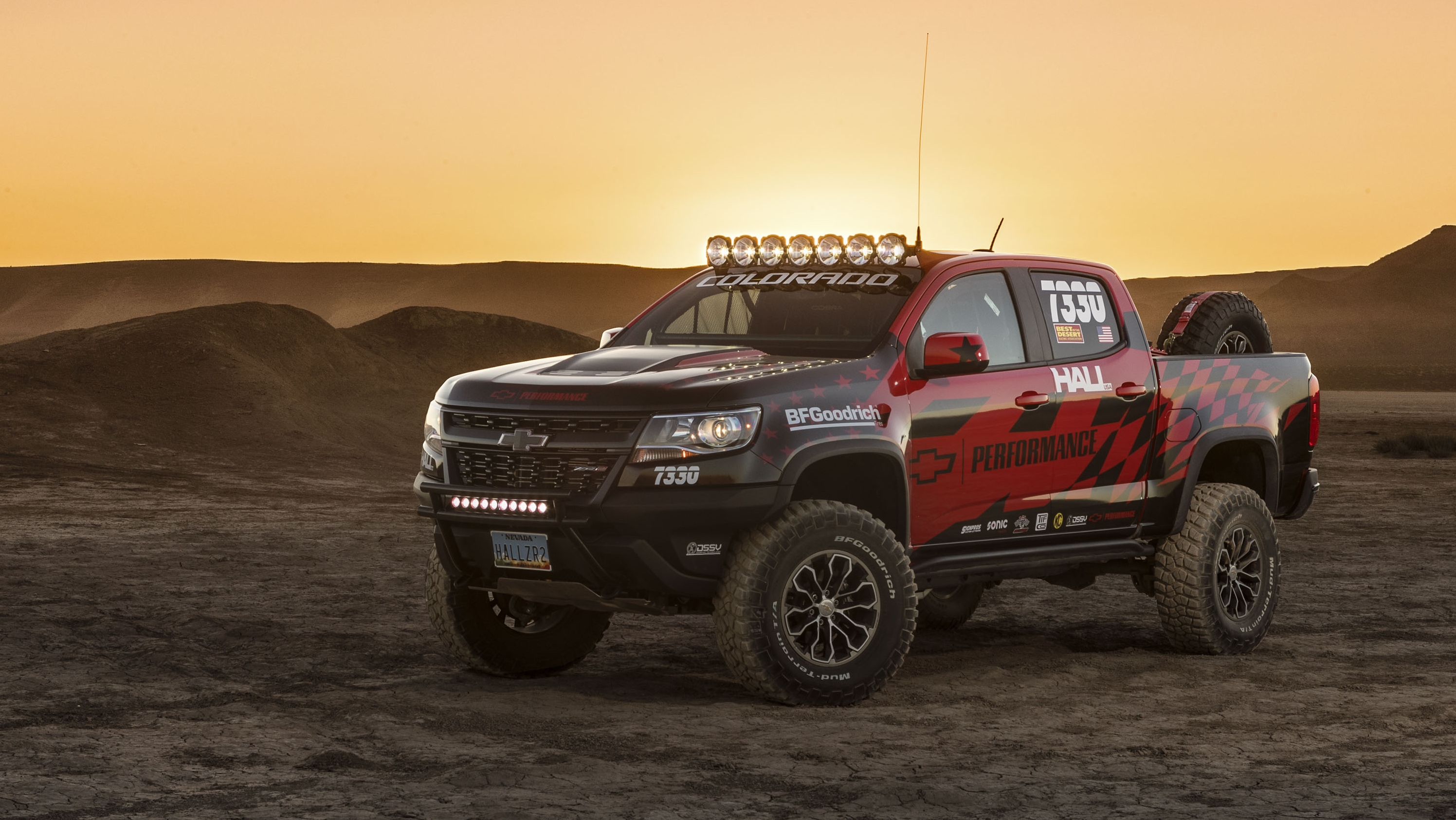 The chevy colorado zr2 will finally have a chance to prove its off road chops in a sanctioned race this weekend chad hall of hall racing will drive a