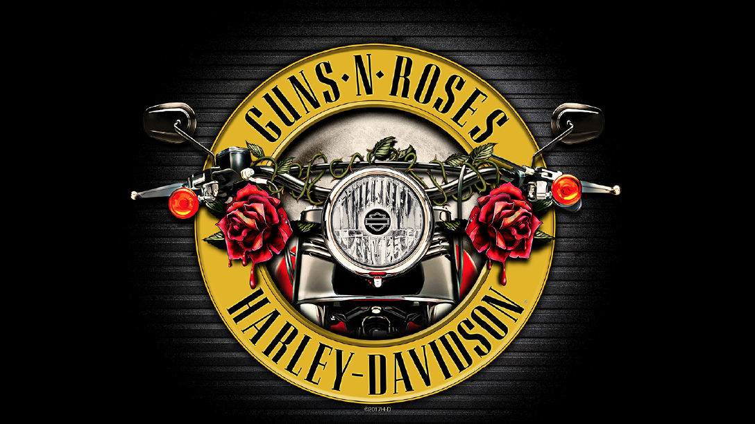 Harley Davidson Co Brands With Guns N Roses Top Speed