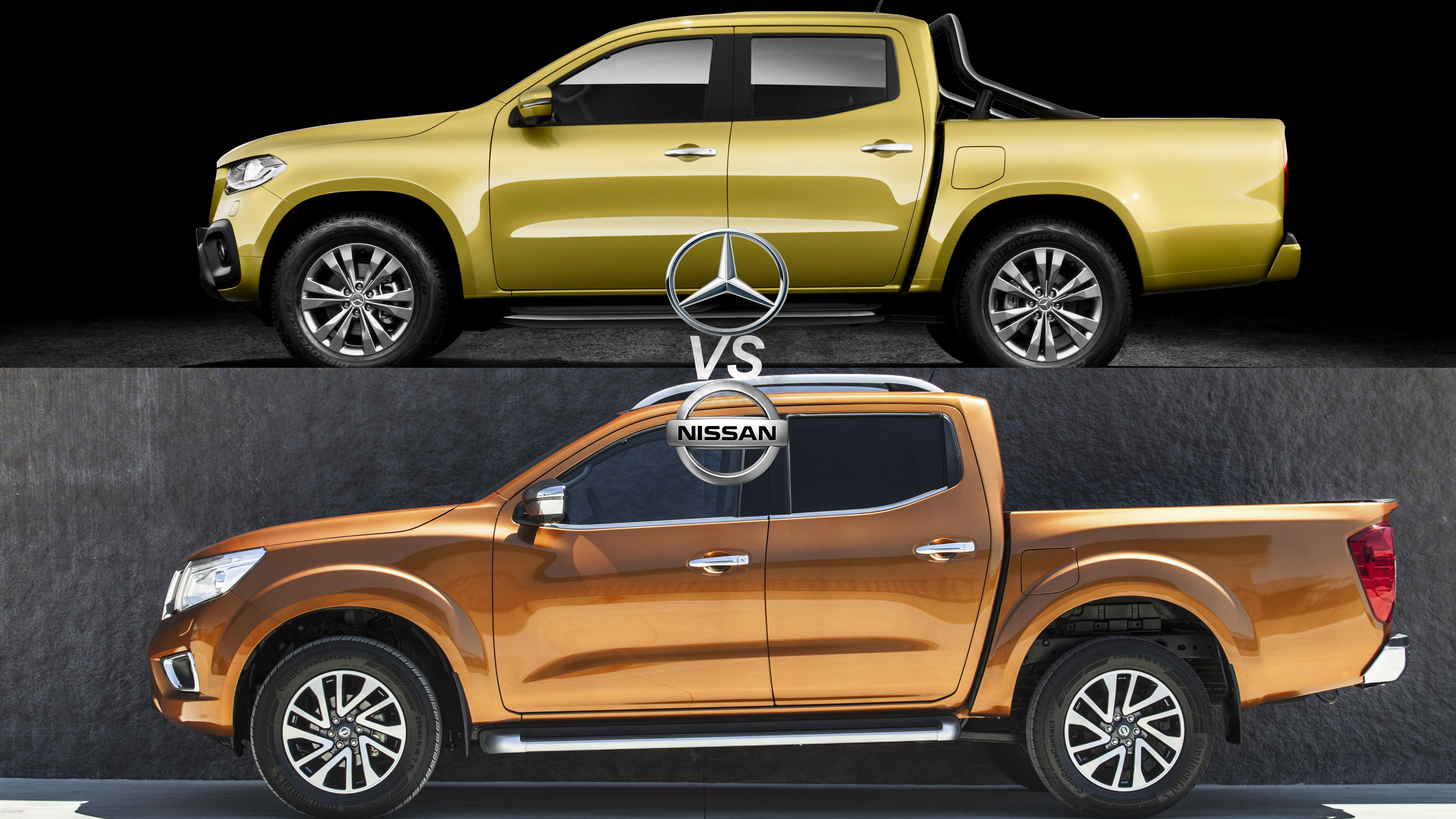 Mercedes nissan pickup