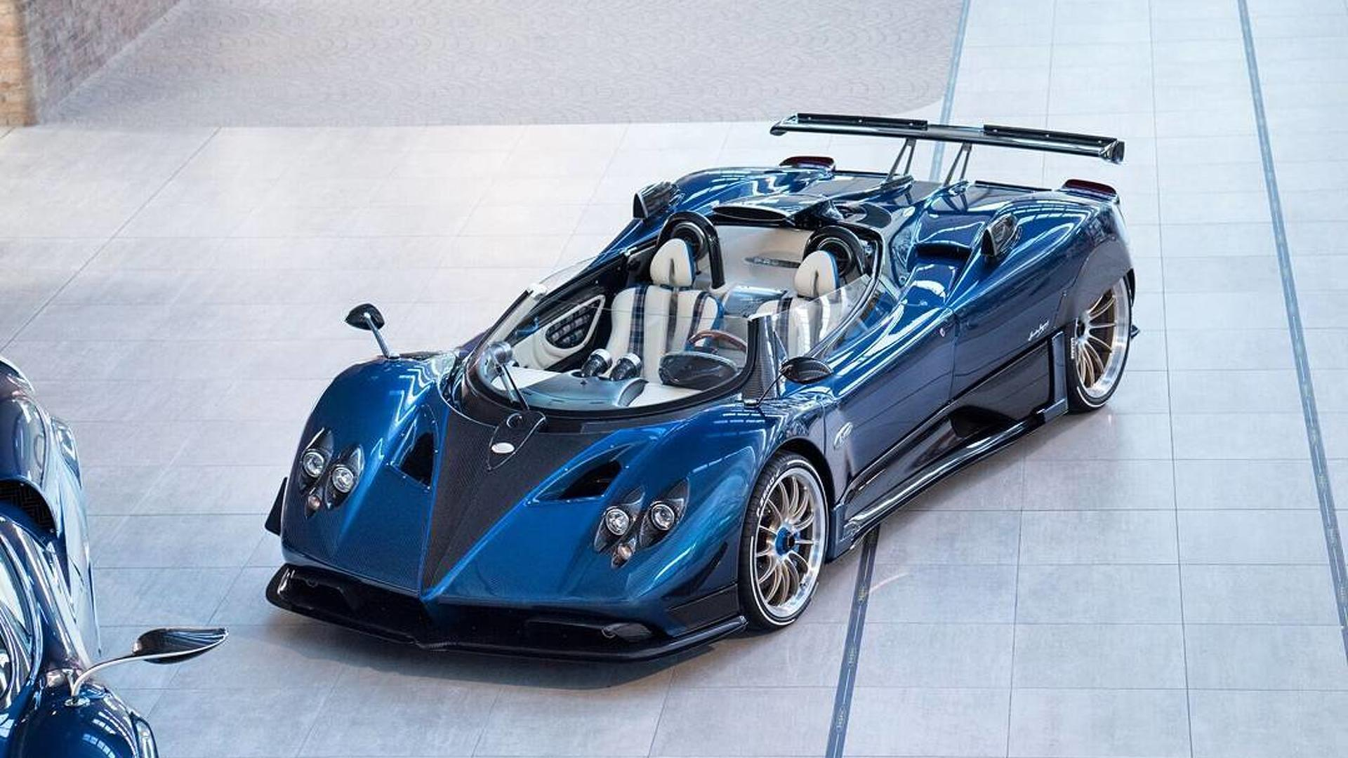 2017 Pagani Zonda Hp Barchetta Top Speed