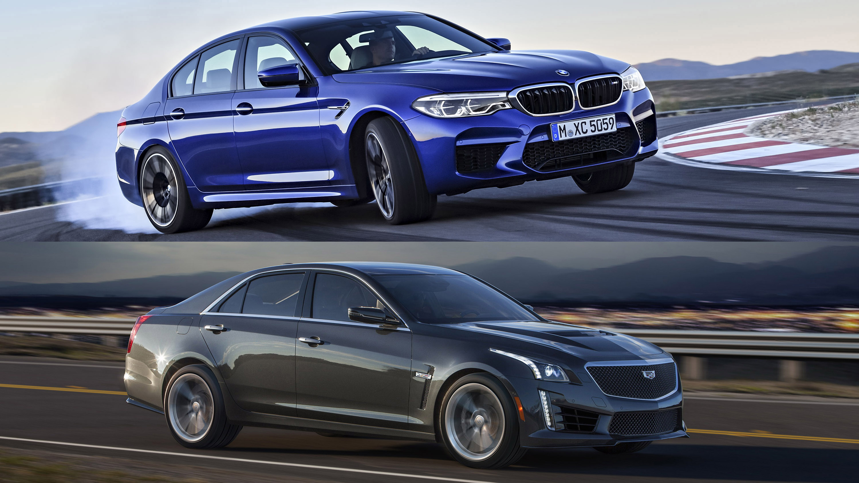 Quick Comparison Bmw M5 Vs Cadillac Cts V Top Speed