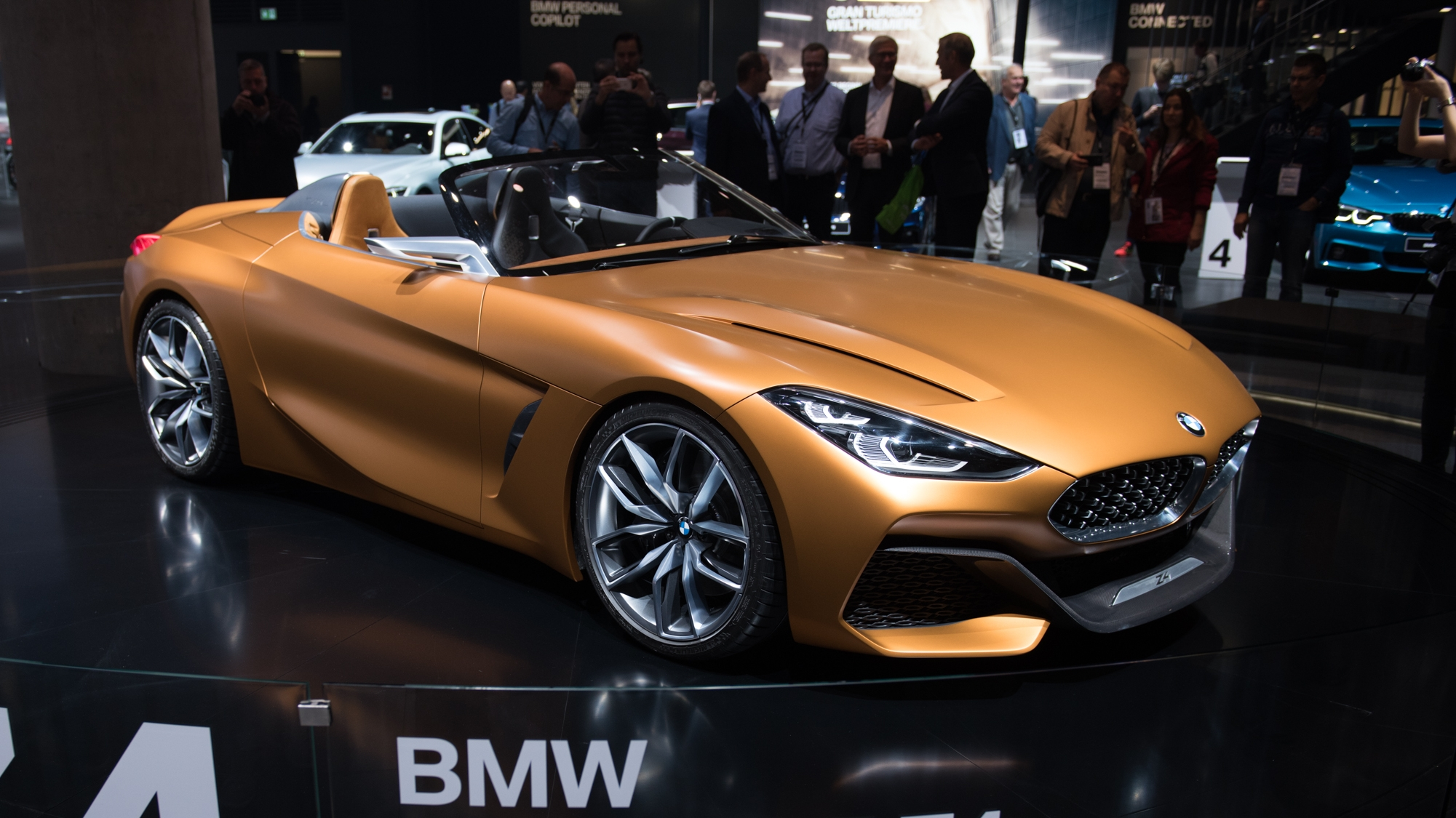 2017 Bmw Concept Z4 Pictures Photos Wallpapers Top Speed