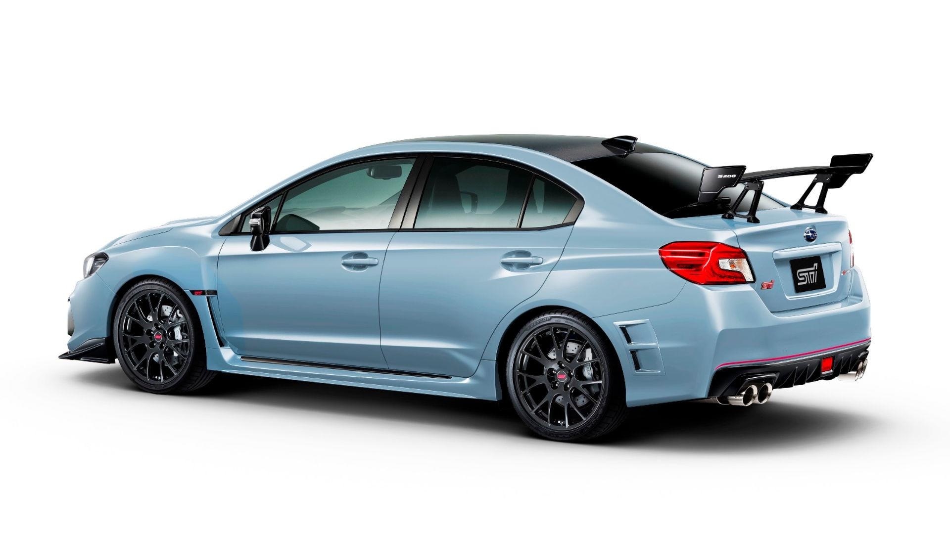 Subaru S208 Wrx Sti Limited Edition Up For Grabs Top Speed