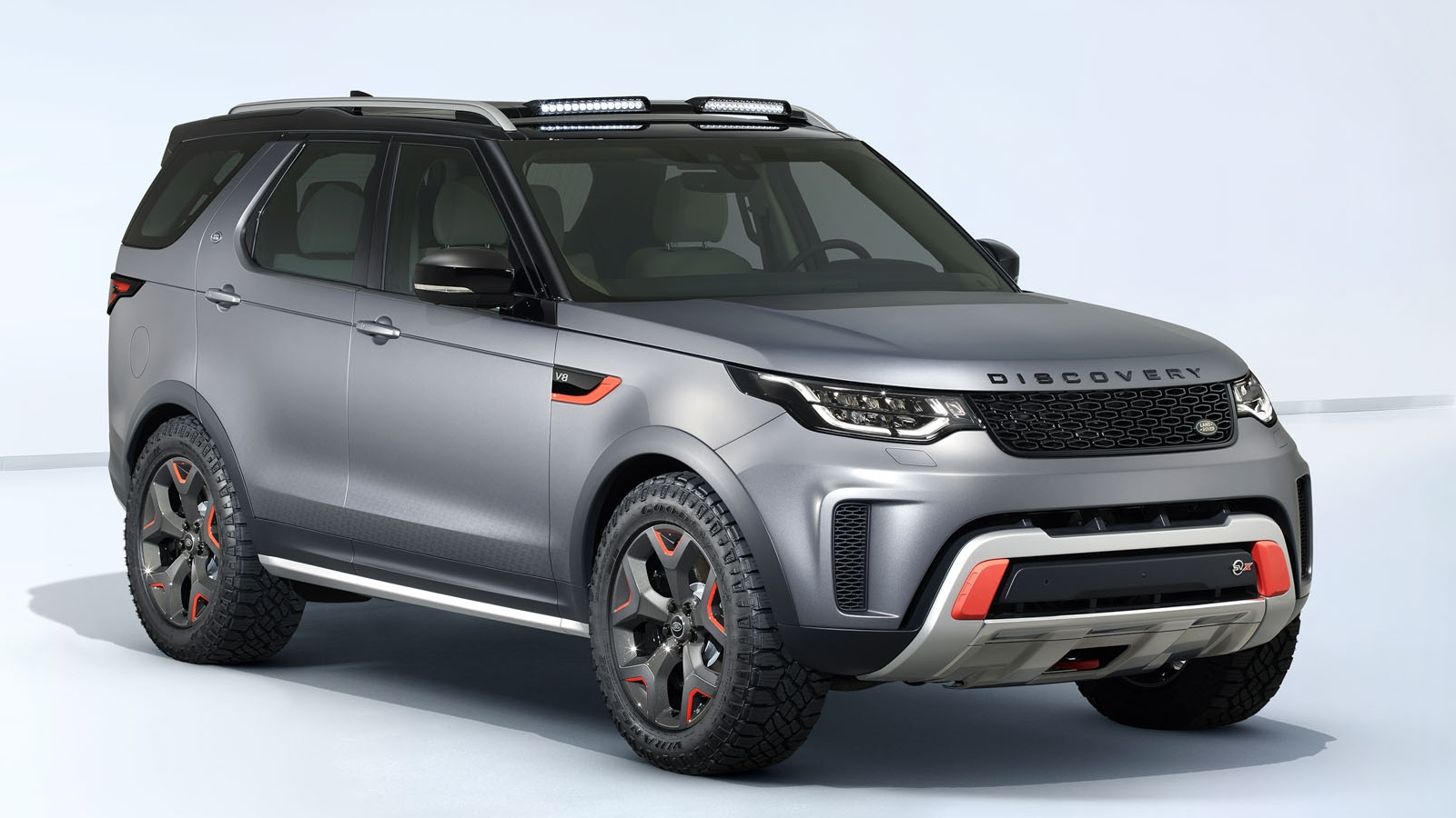 rover half discovery landrover land front foot runner products slimline roof rack mount cargo rail accessories ii