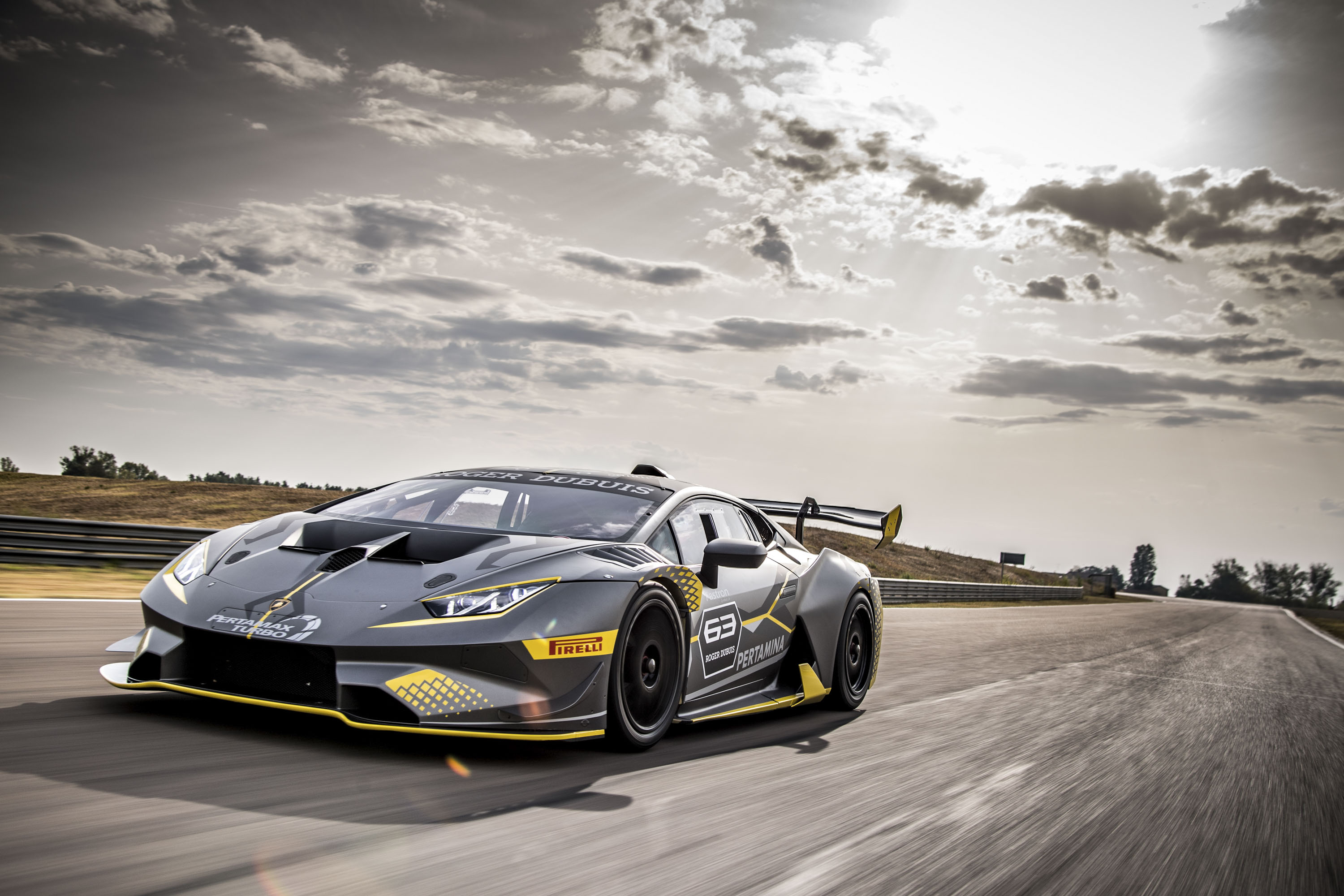 2018 Lamborghini Huracan Super Trofeo Evo Top Speed