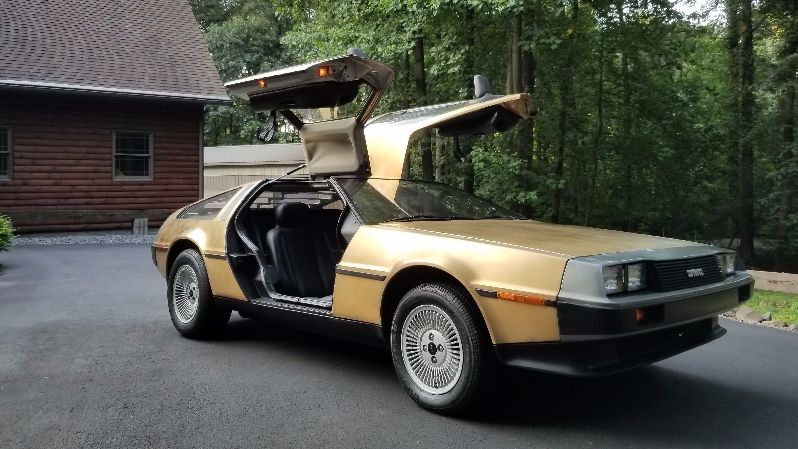 Nobody On EBay Wanted This 1983 DeLorean Plated In 24k Gold   Top Speed