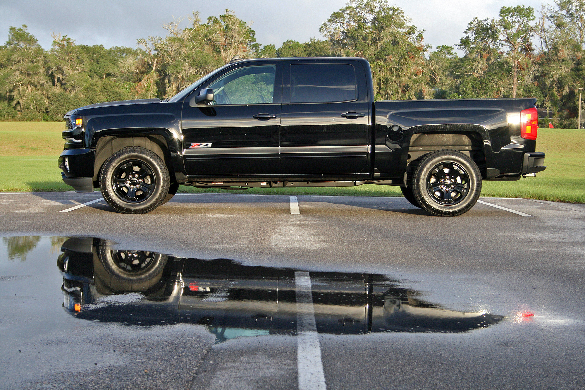 2017 Chevrolet Silverado 1500 Z71 Midnight Edition Driven Top Speed