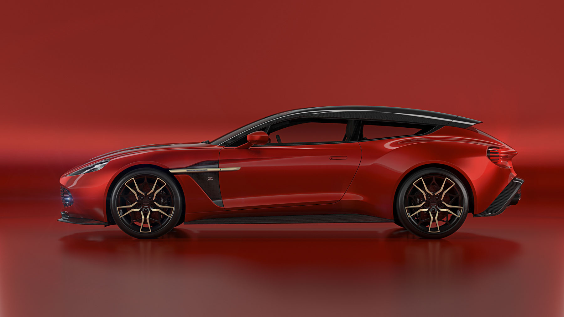 2018 Aston Martin Vanquish Zagato Shooting Brake Top Speed