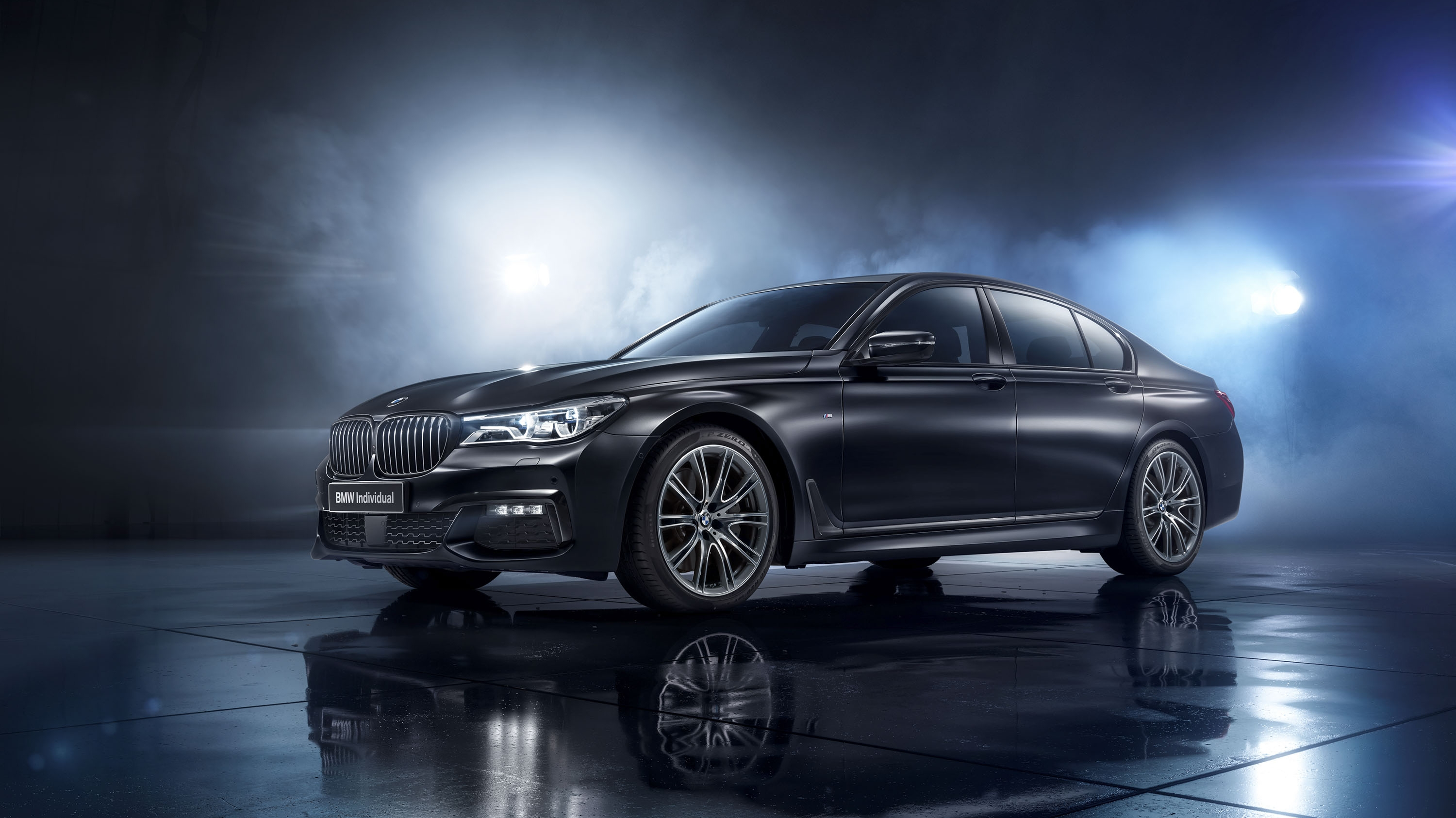 2017 BMW 7 Series Individual Black Ice Edition Pictures ...