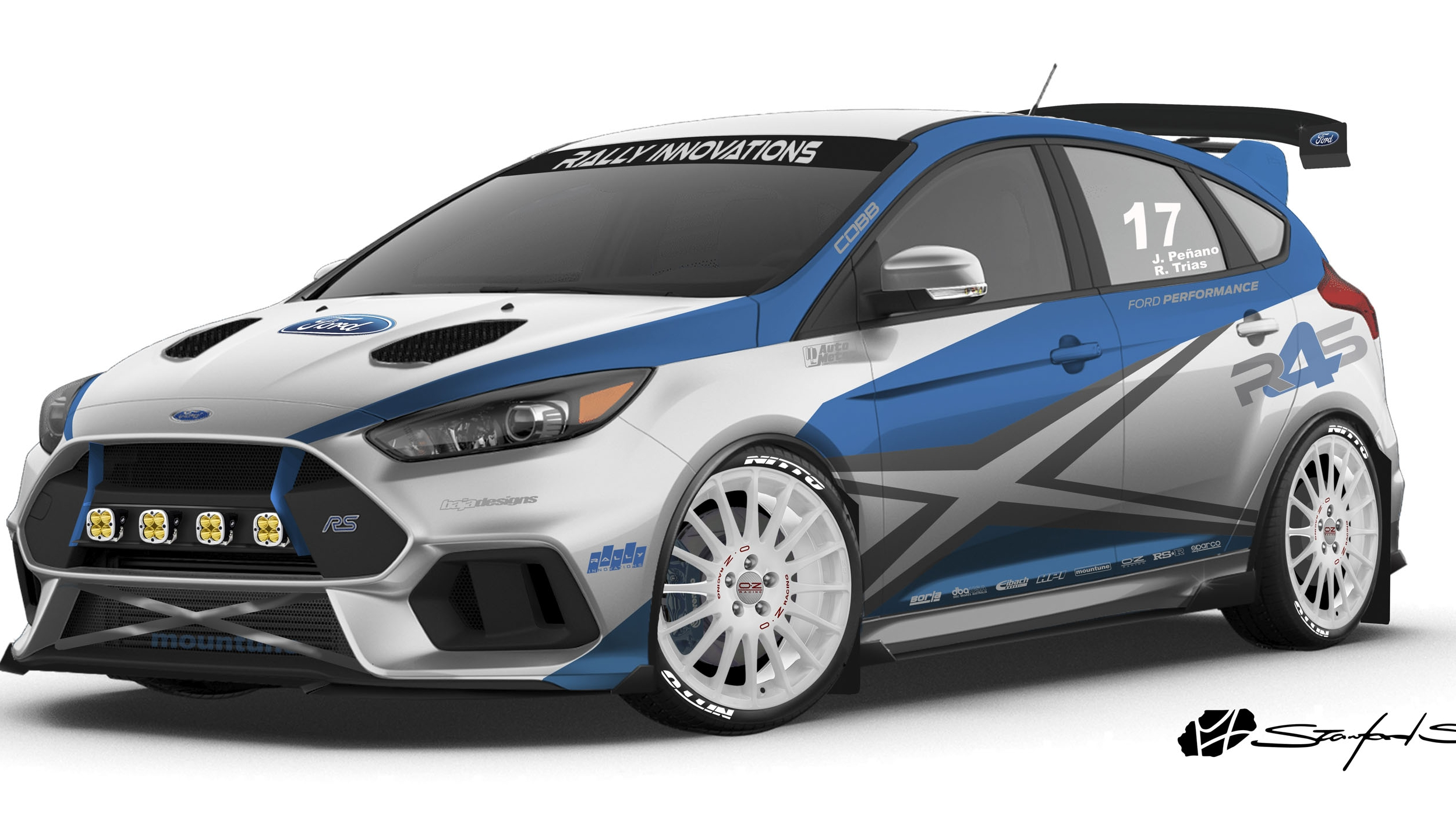 Ford Focus Rs By Rally Innovations Top Speed
