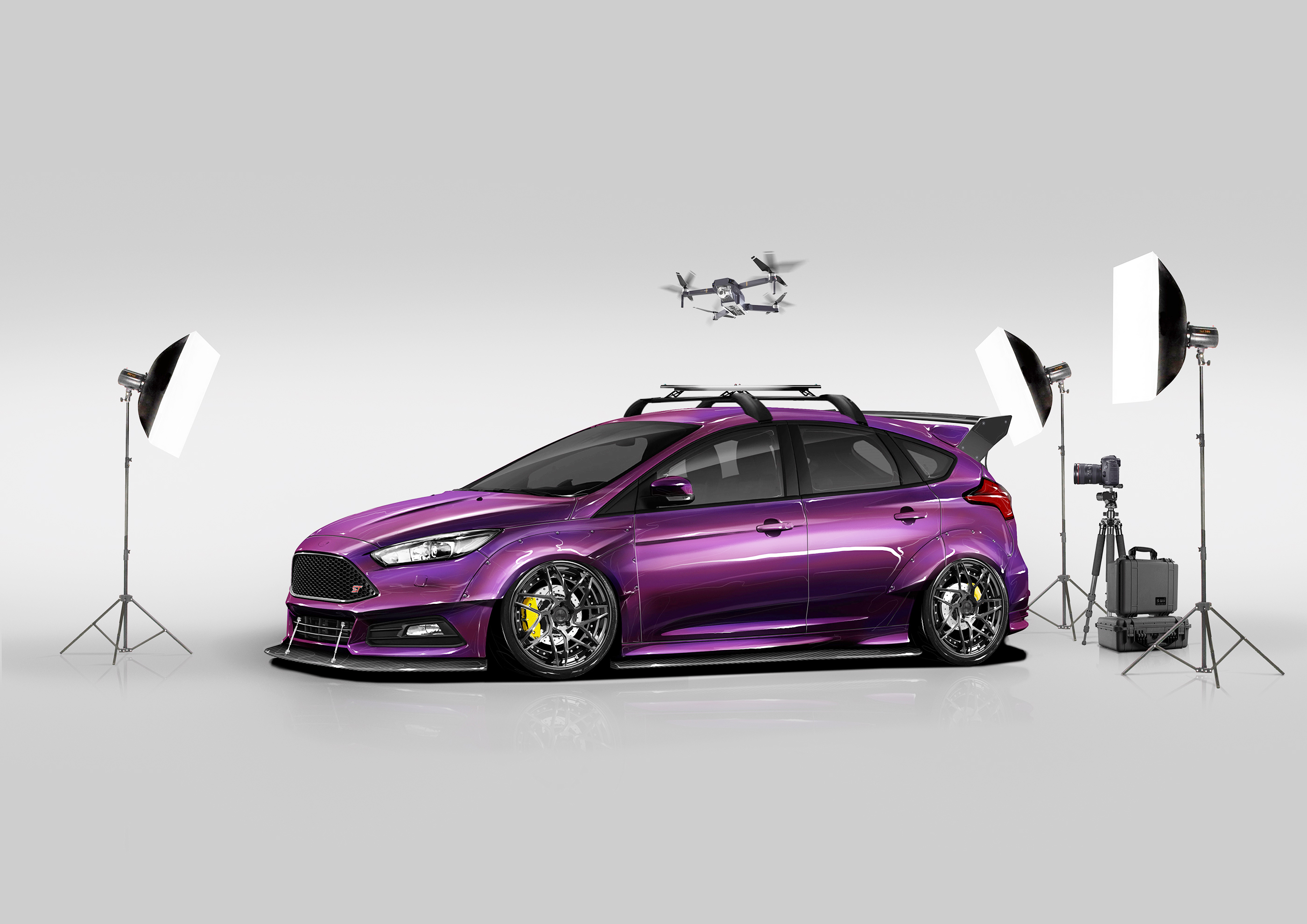 Ford Focus St By Blood Type Racing Top Speed