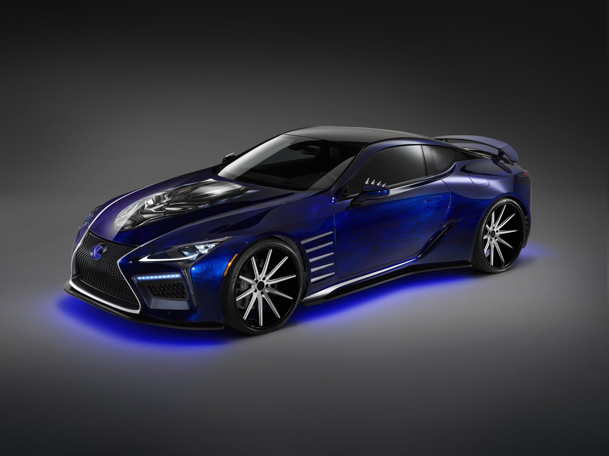 2017 Lexus Lc 500 Inspired By Black Panther Top Speed