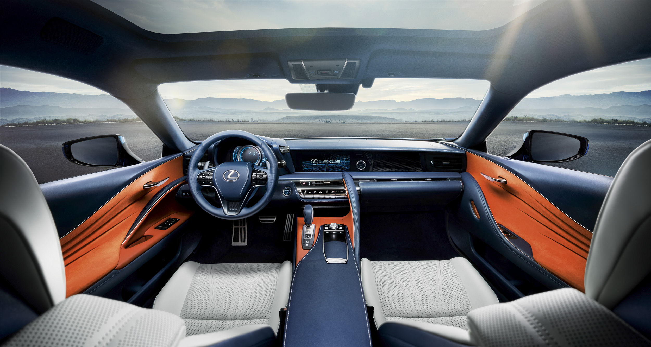 2018 Lexus Lc Structural Blue Edition Top Speed