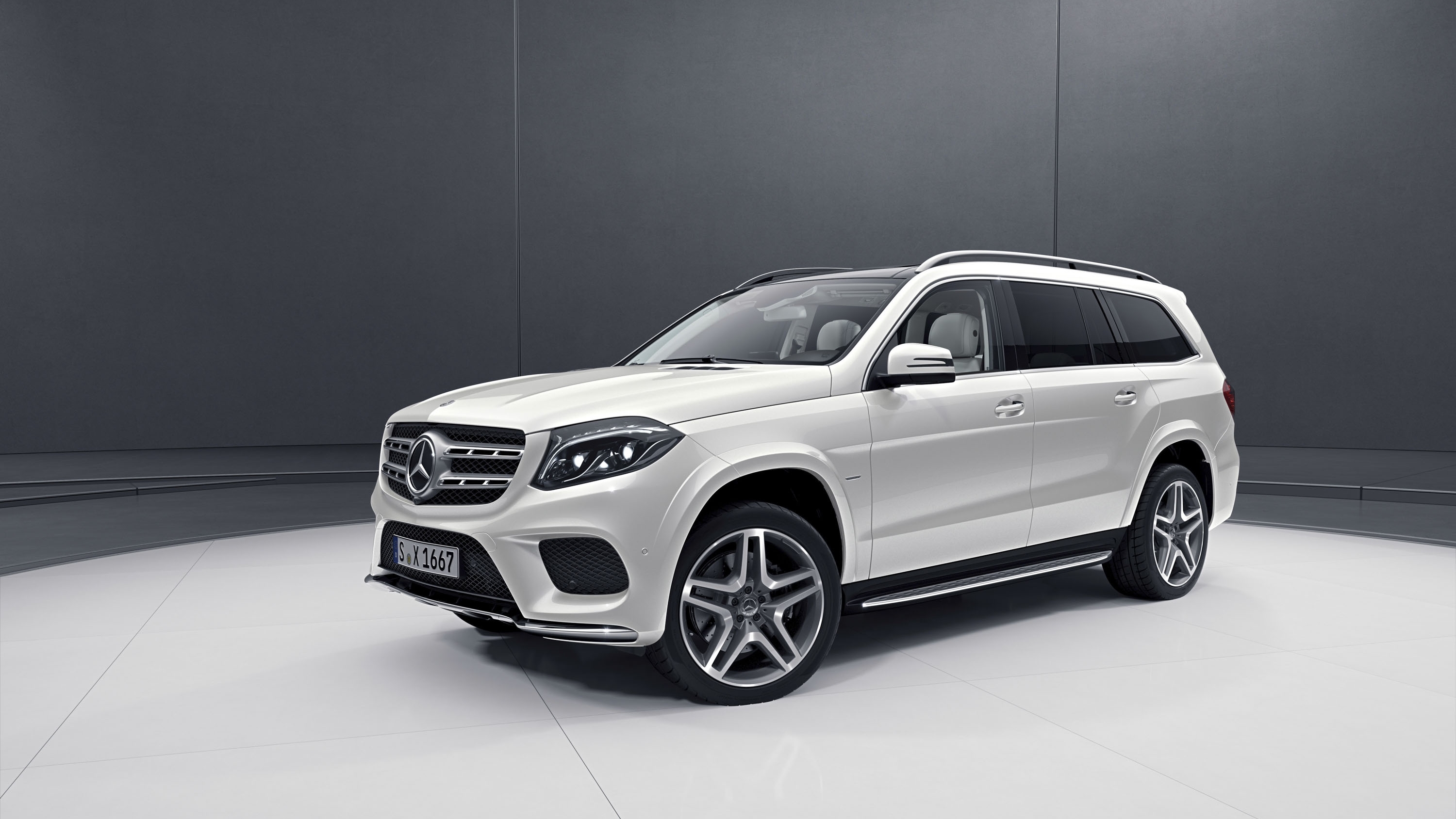 2018 Mercedes Benz Gls Grand Edition Pictures Photos Wallpapers