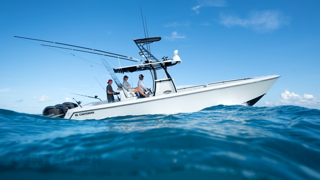 2017 contender 35 st review gallery top speed for Best fishing boats 2017