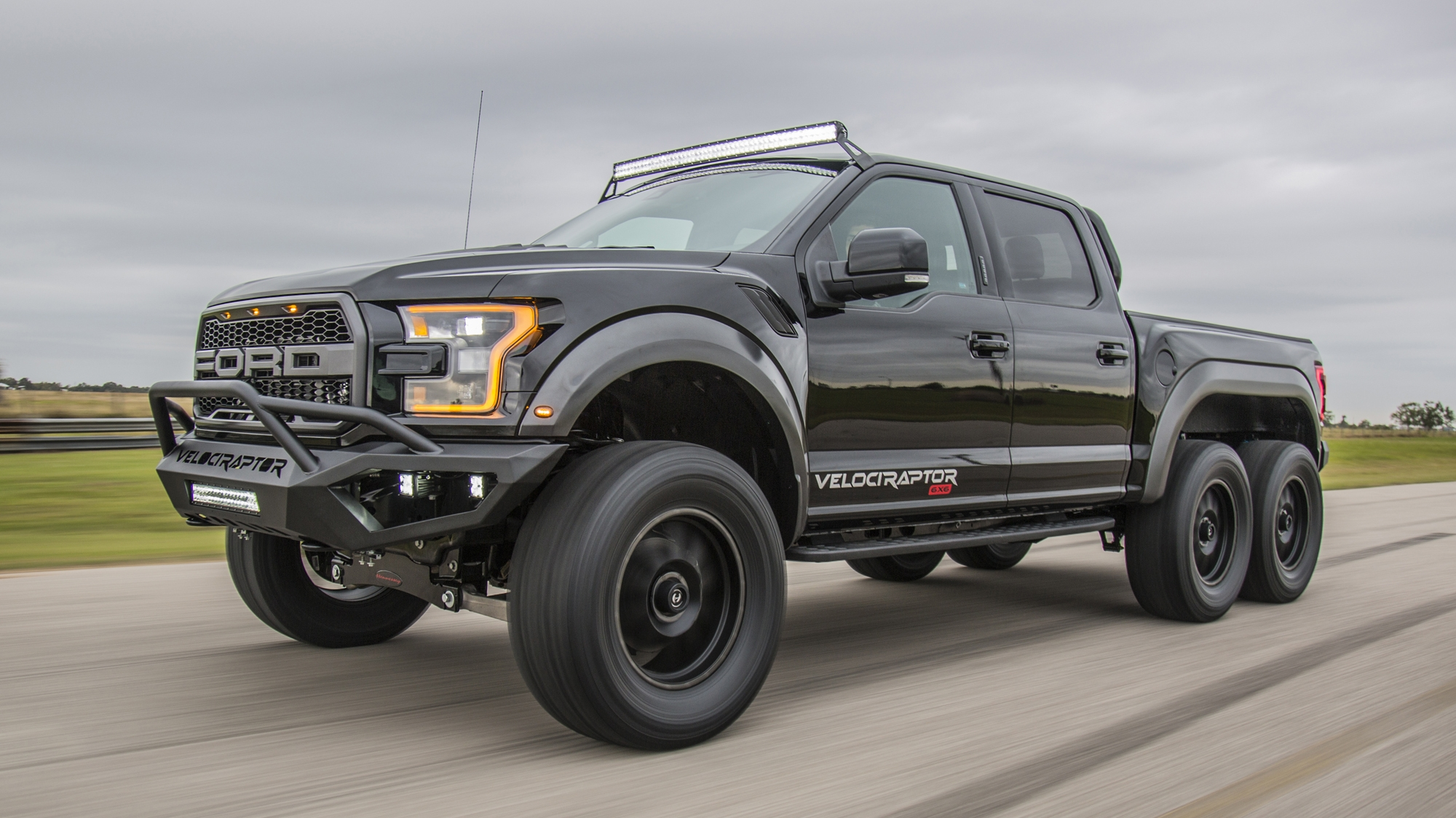 2018 Ford F-150 VelociRaptor 6x6 By Hennessey Performance ...