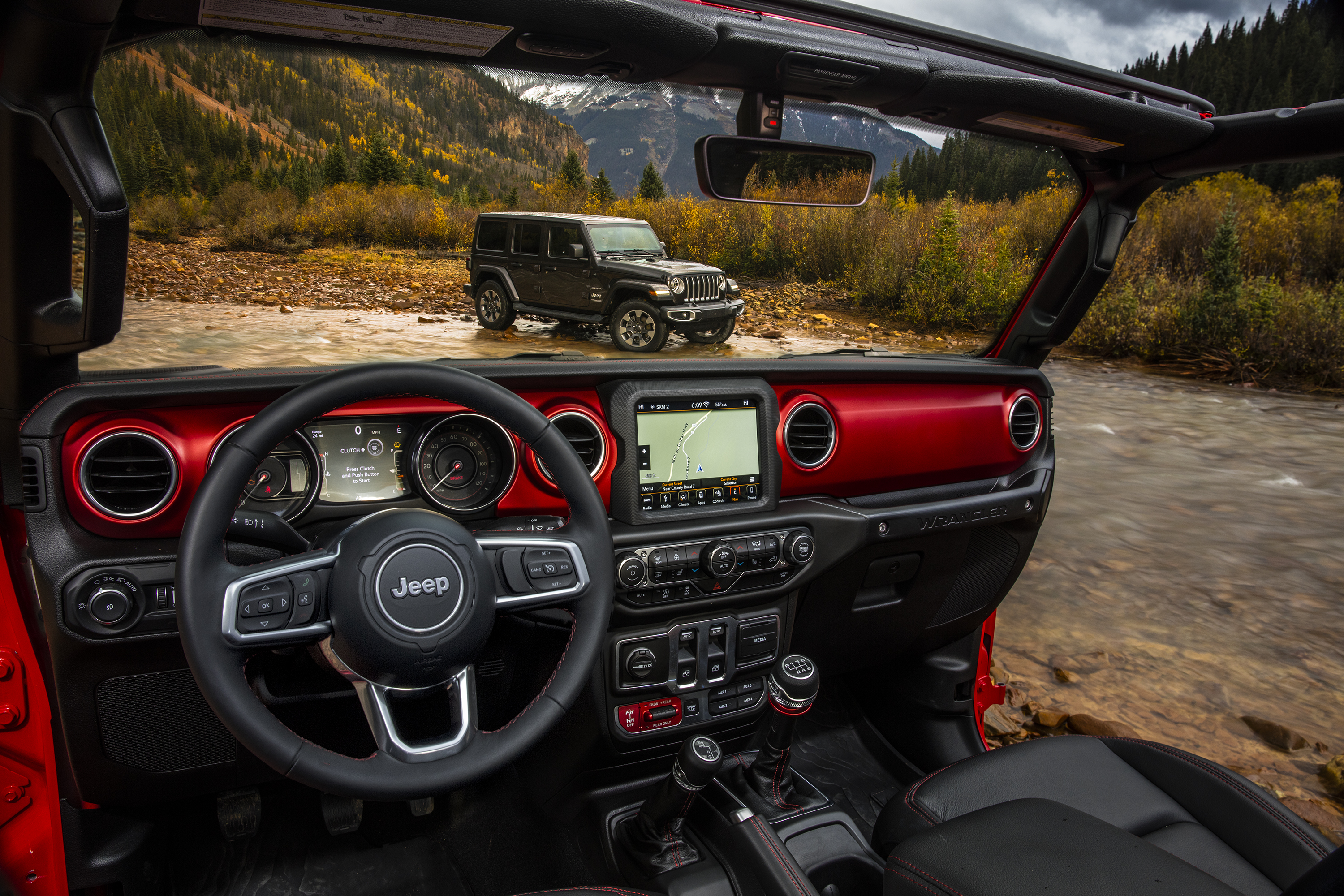 Jeep Drops Official Images Of 2018 Wrangler Interior | Top Speed