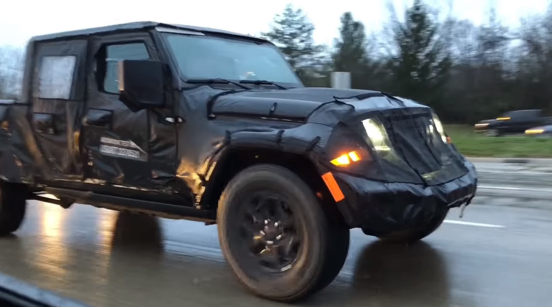 2019 Jeep Scrambler Spotted On The Road Top Speed