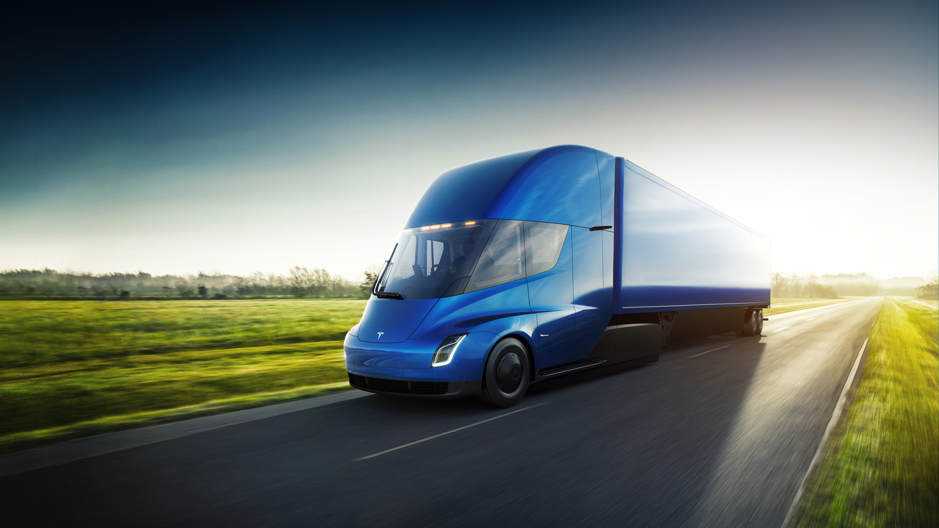 2019 Tesla Semi Top Speed Motor Design Diagram Pics