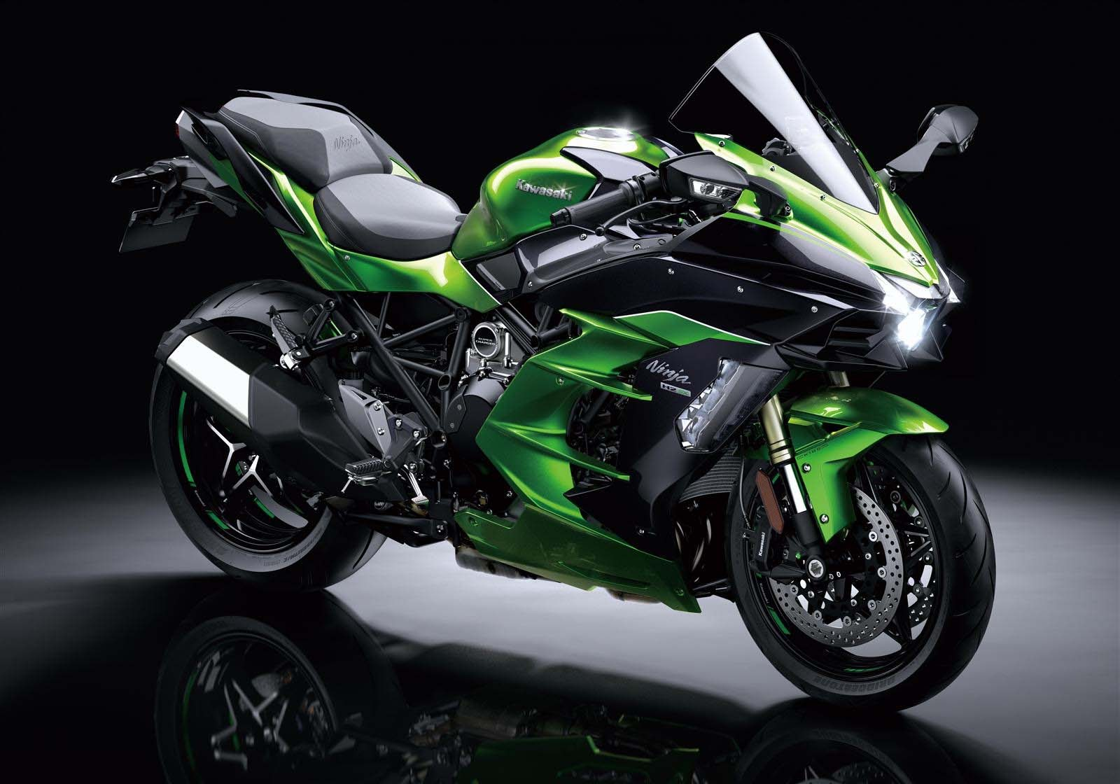 After The Mighty Ninja H2 And H2r Kawasaki Brings In The 207 Hp H2