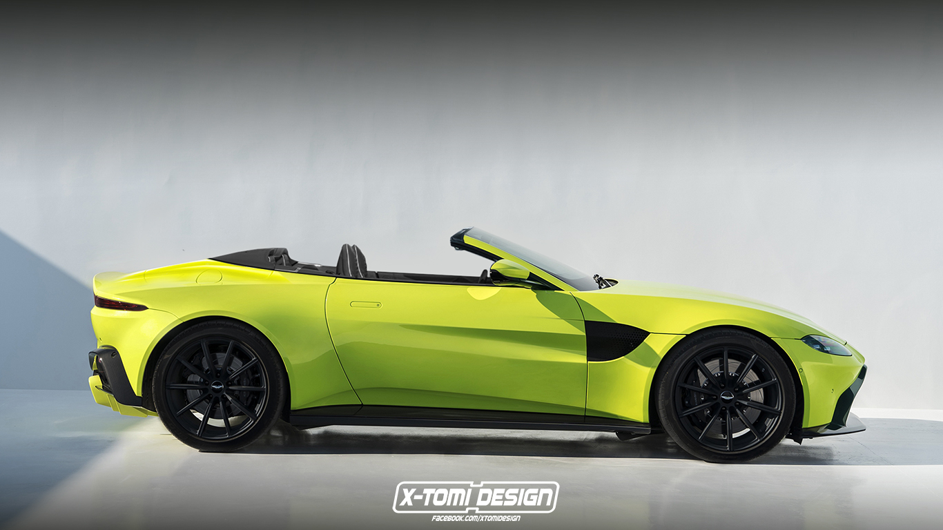 2019 aston martin vantage volante | top speed