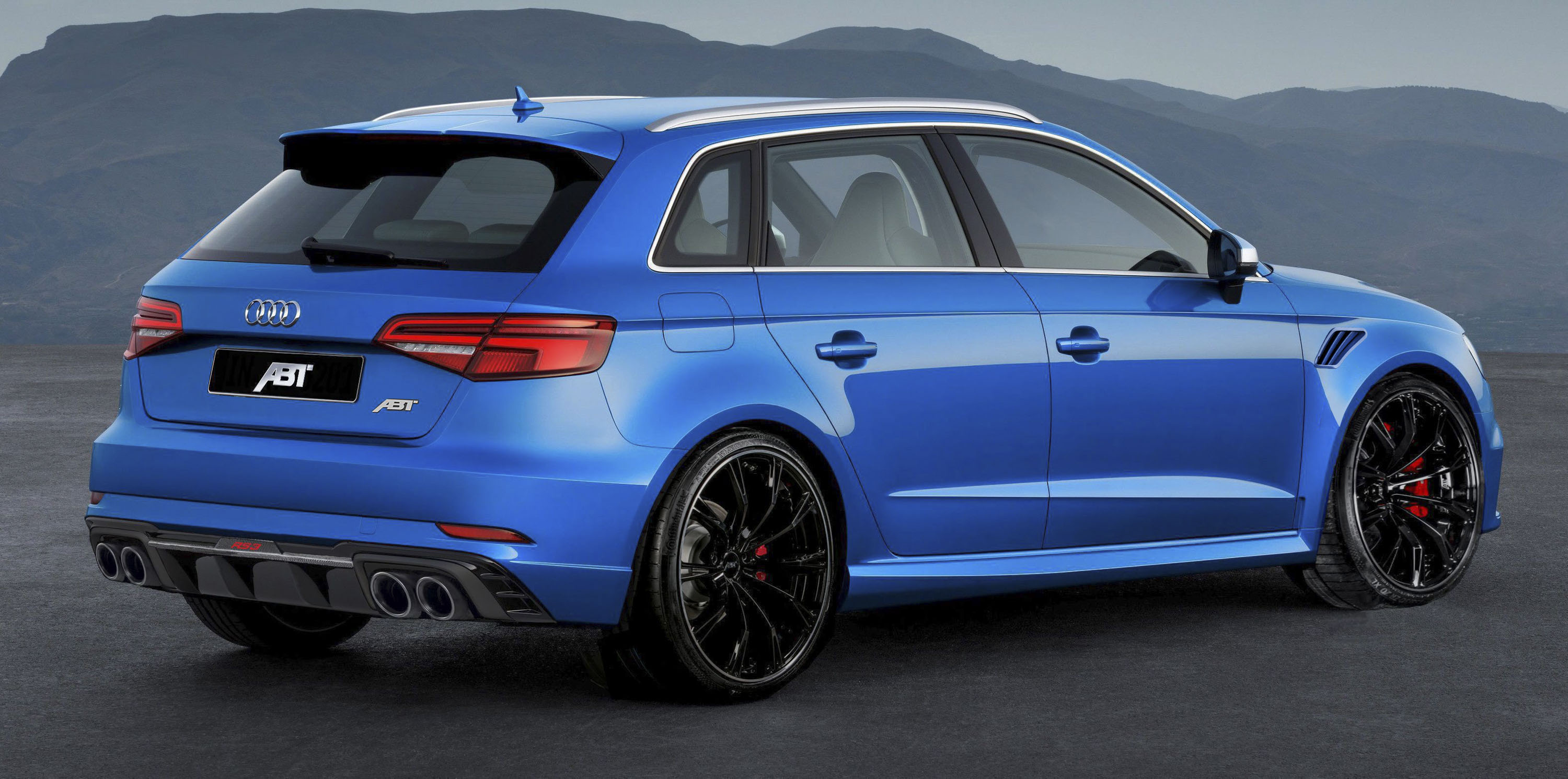 Audi RS By ABT Sportsline Top Speed - Audi r3