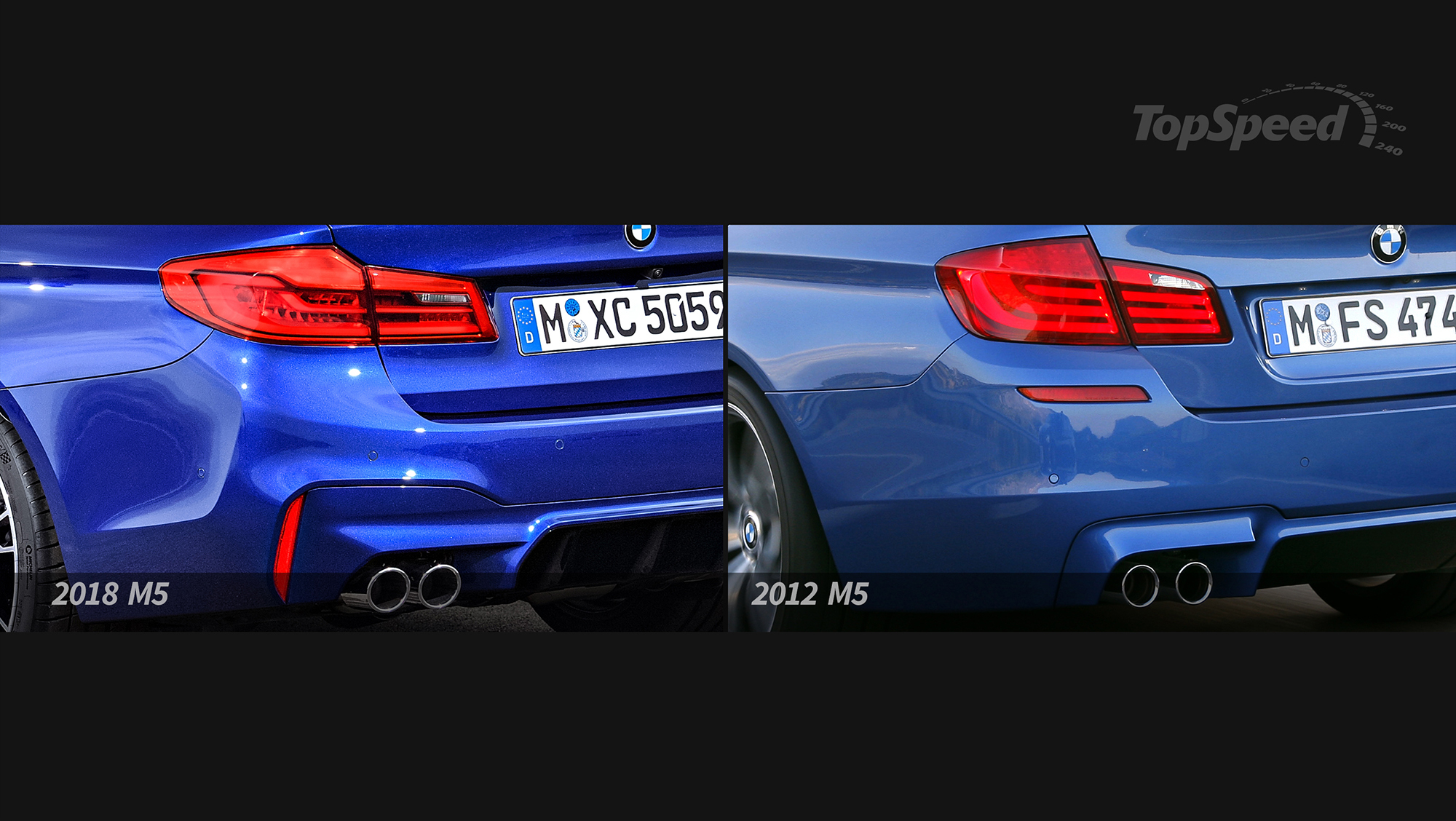 Bmw M5 Old Vs New Top Speed