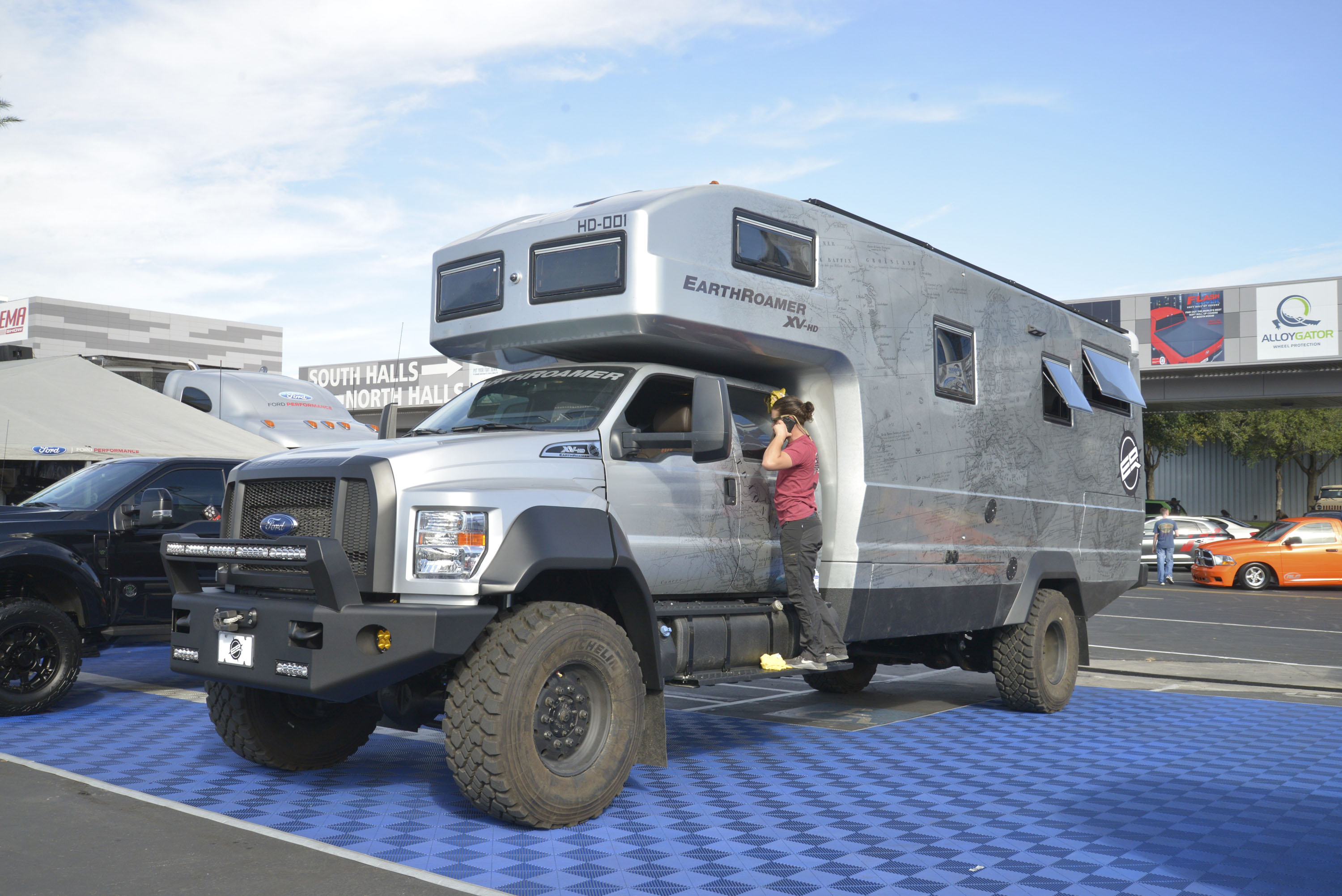 Ford F Series Reviews Specs Prices Photos And Videos Top Speed 2000 F450 Fuel Tank Earthroamers New 750 Xv Hd Is A 15m Off Roading Rv
