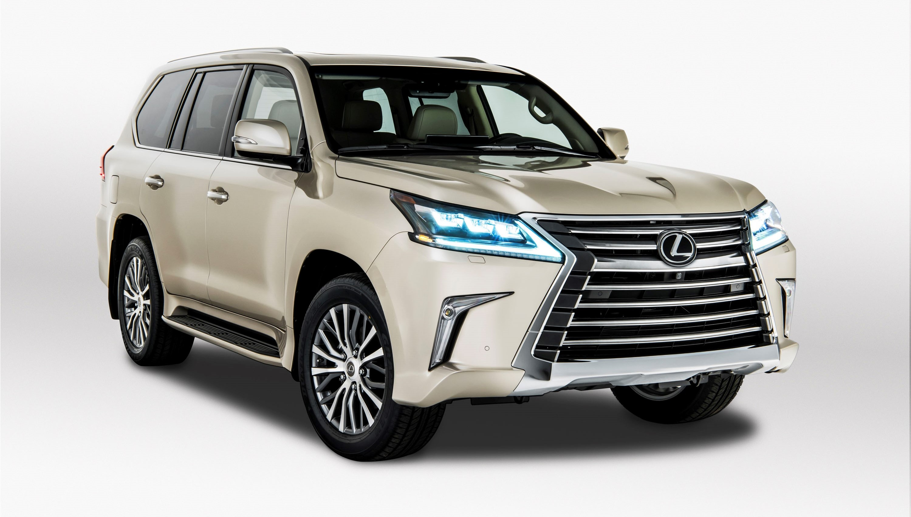 Bmw With 3Rd Row Seating >> Eject-O Seat-O: 2019 Lexus LX Drops Third Row And $5,000 ...