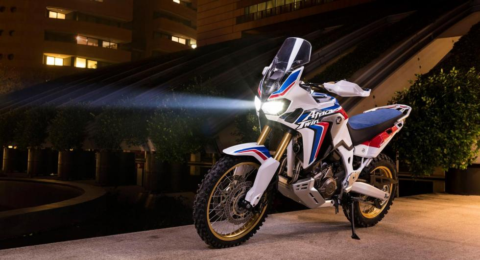 Hondas Africa Twin To Get Tougher On The Outside Pictures