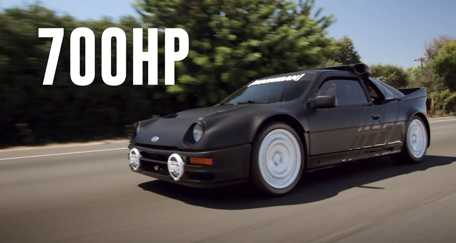 Ken block hits the street in awesome 700 horsepower ford rs200 top speed