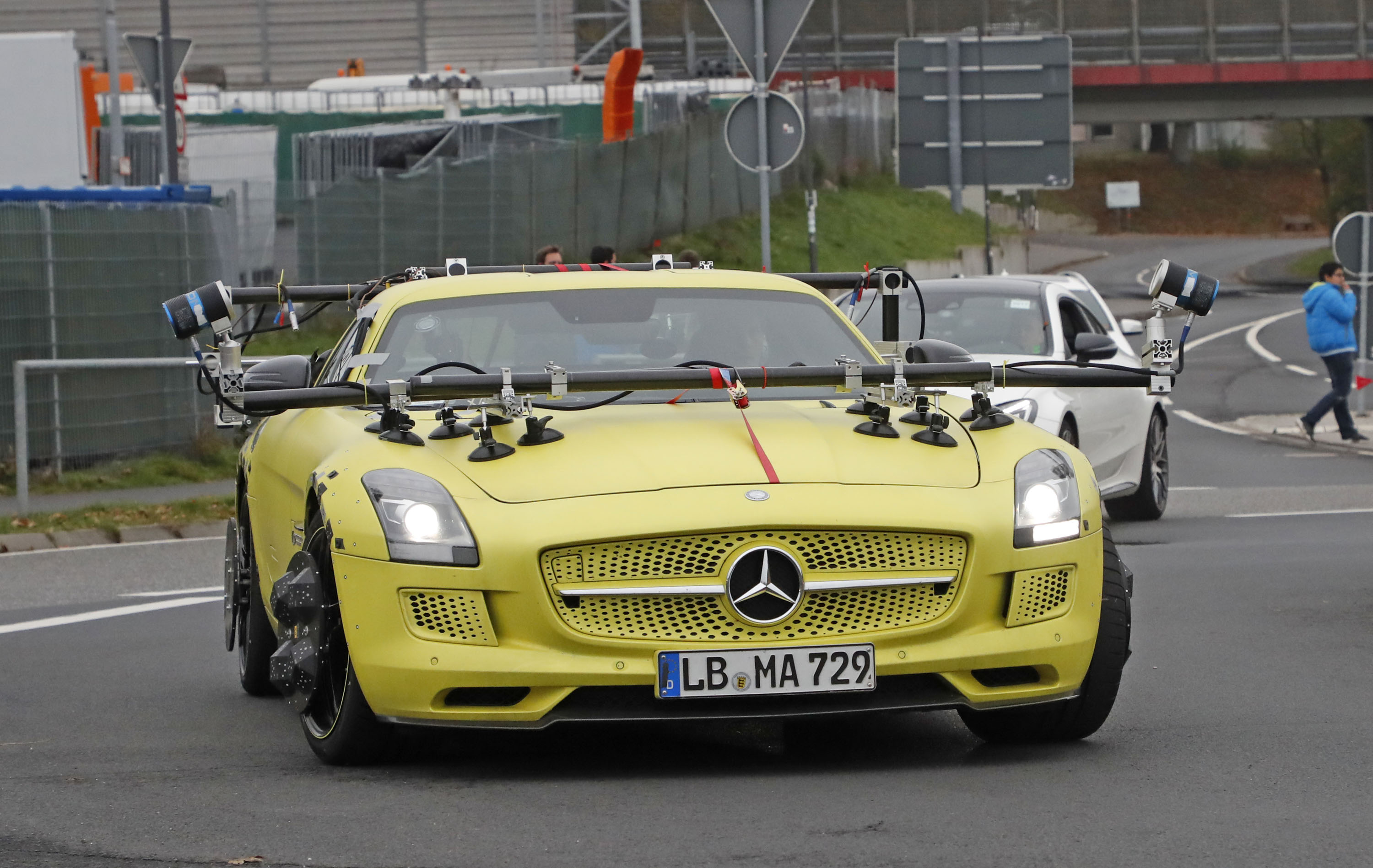Mercedes Sls Amg Gt >> What In The World Is Mercedes Doing With This Sls Amg