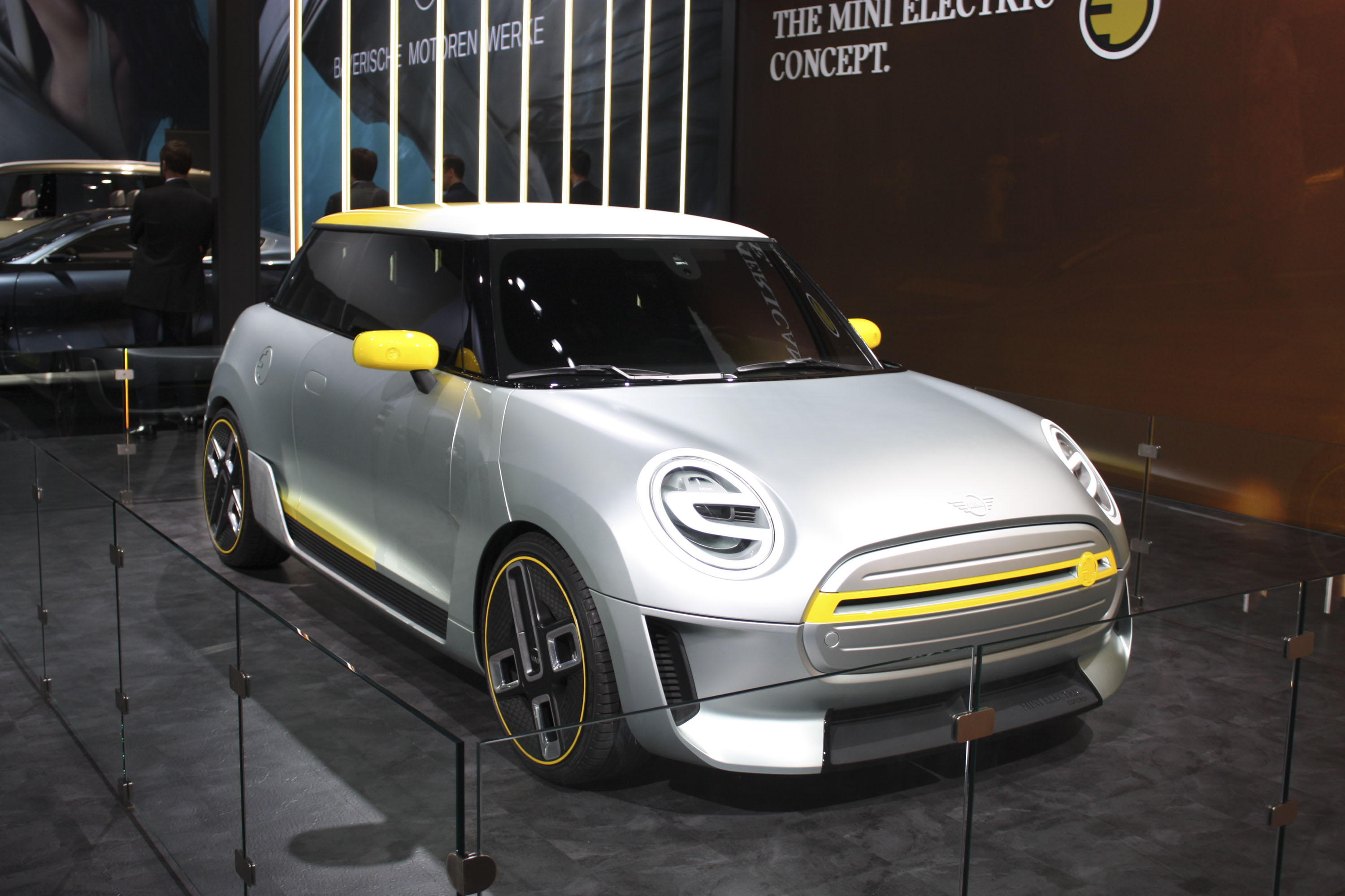 Rumor The Mini Electric Concept Could Come To Life As The Bmw I1