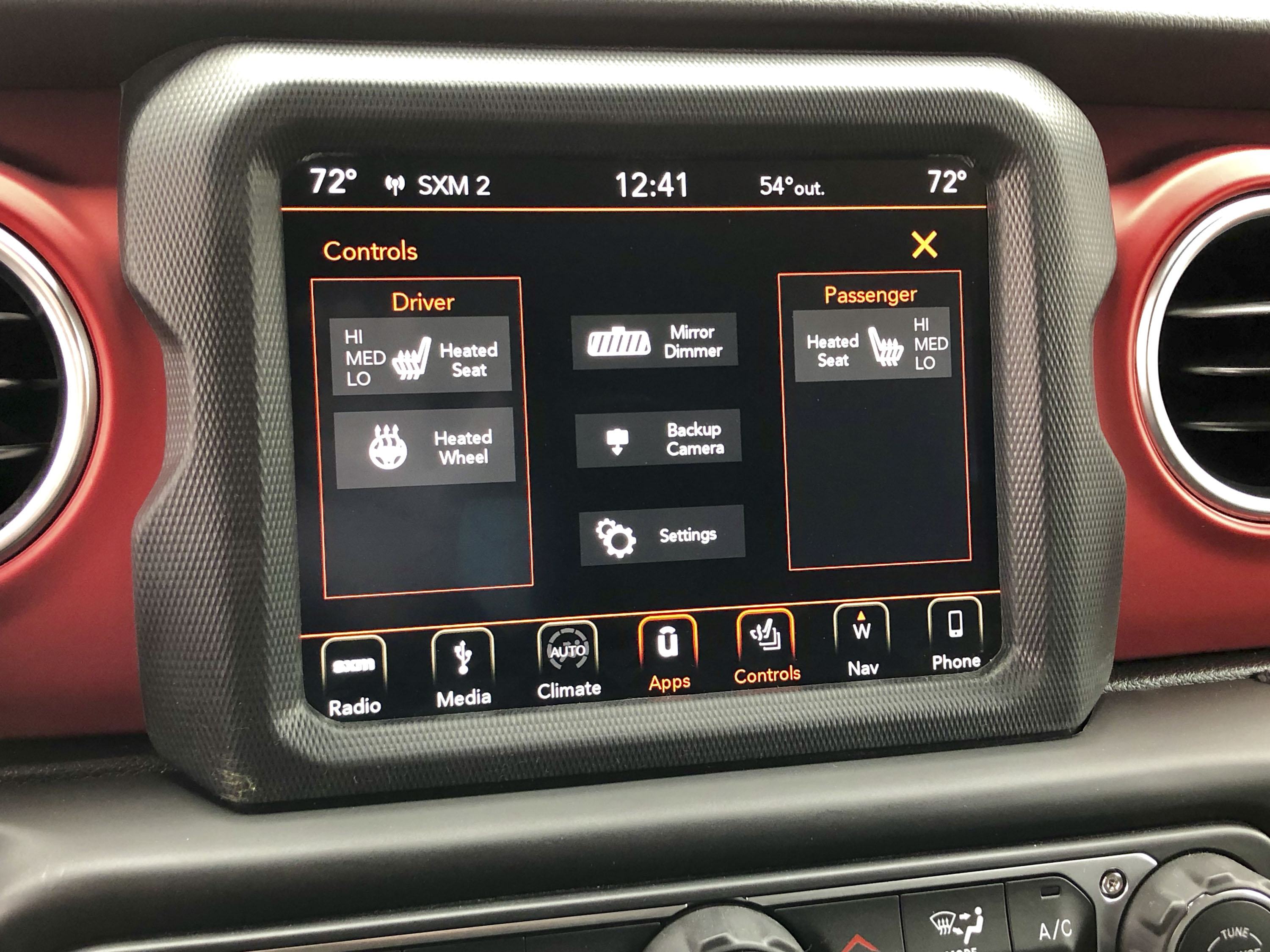 A Detailed Look At The 2018 Jeep Wranglers Dashboard Top Speed Wrangler Double Din Radio