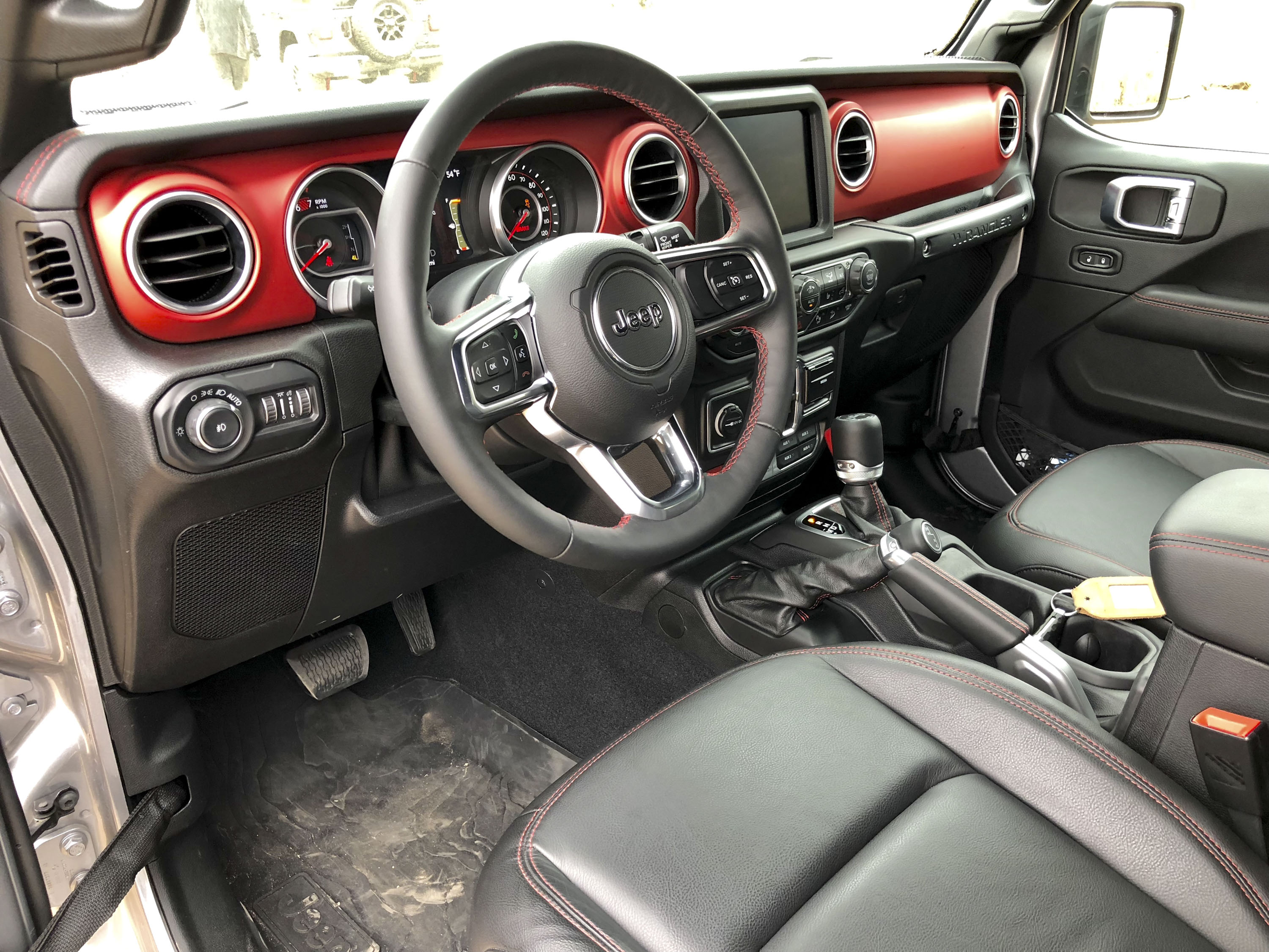 A Detailed Look At The 2018 Jeep Wranglers Dashboard Top Speed Wrangler Custom Dash