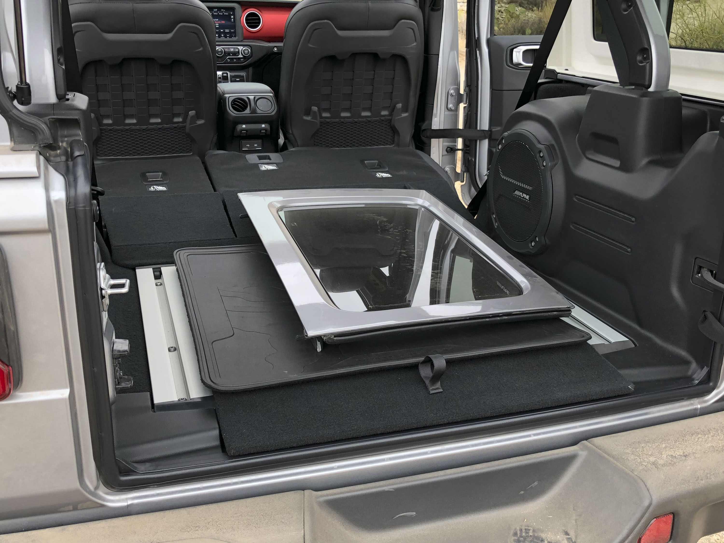 The 2018 Wrangler S Cargo Area Is Ready For Anything Top Speed
