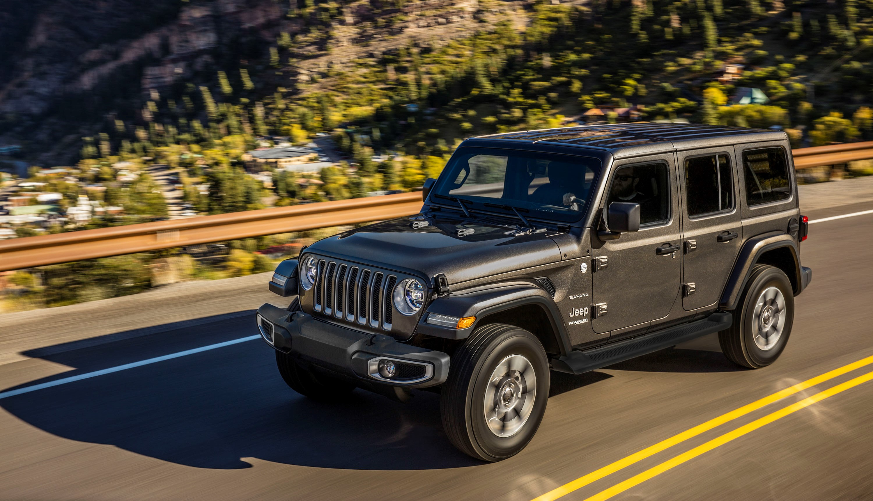 the 2018 jeep wrangler unlimited sahara spied with 45 000. Black Bedroom Furniture Sets. Home Design Ideas