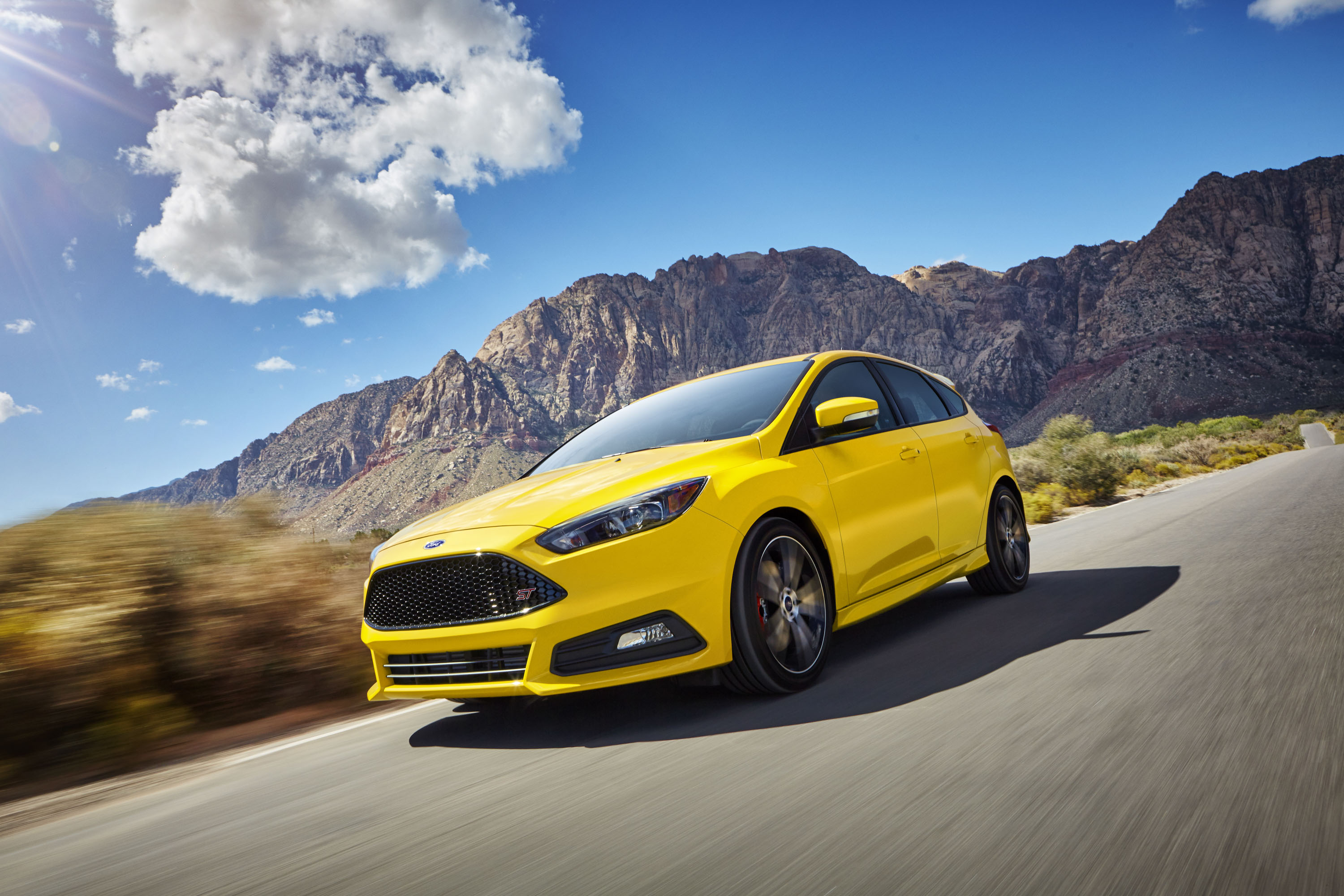 2014 Ford Focus St Top Speed