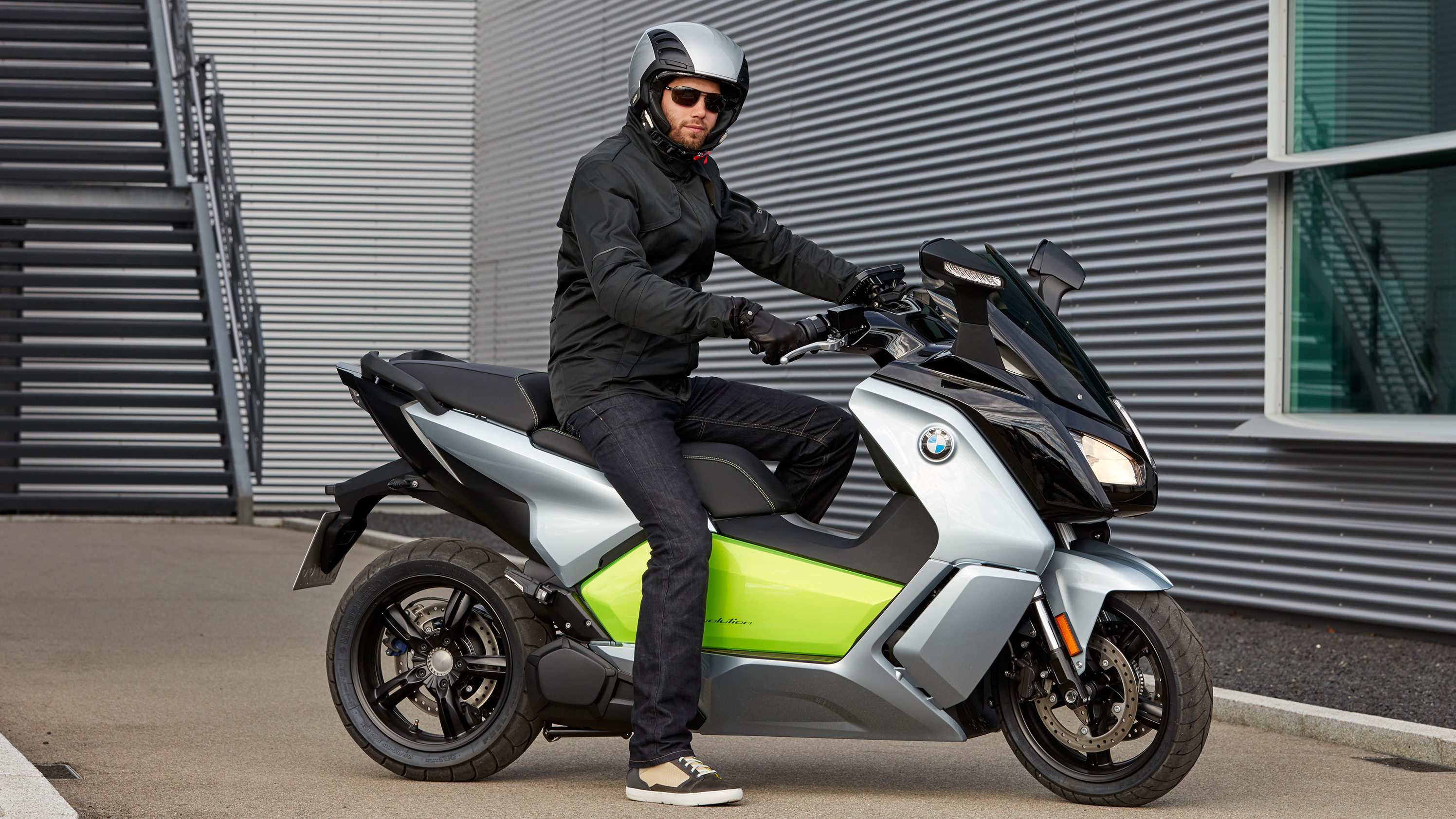 bmw motorrad mobility kick with a highres scooter