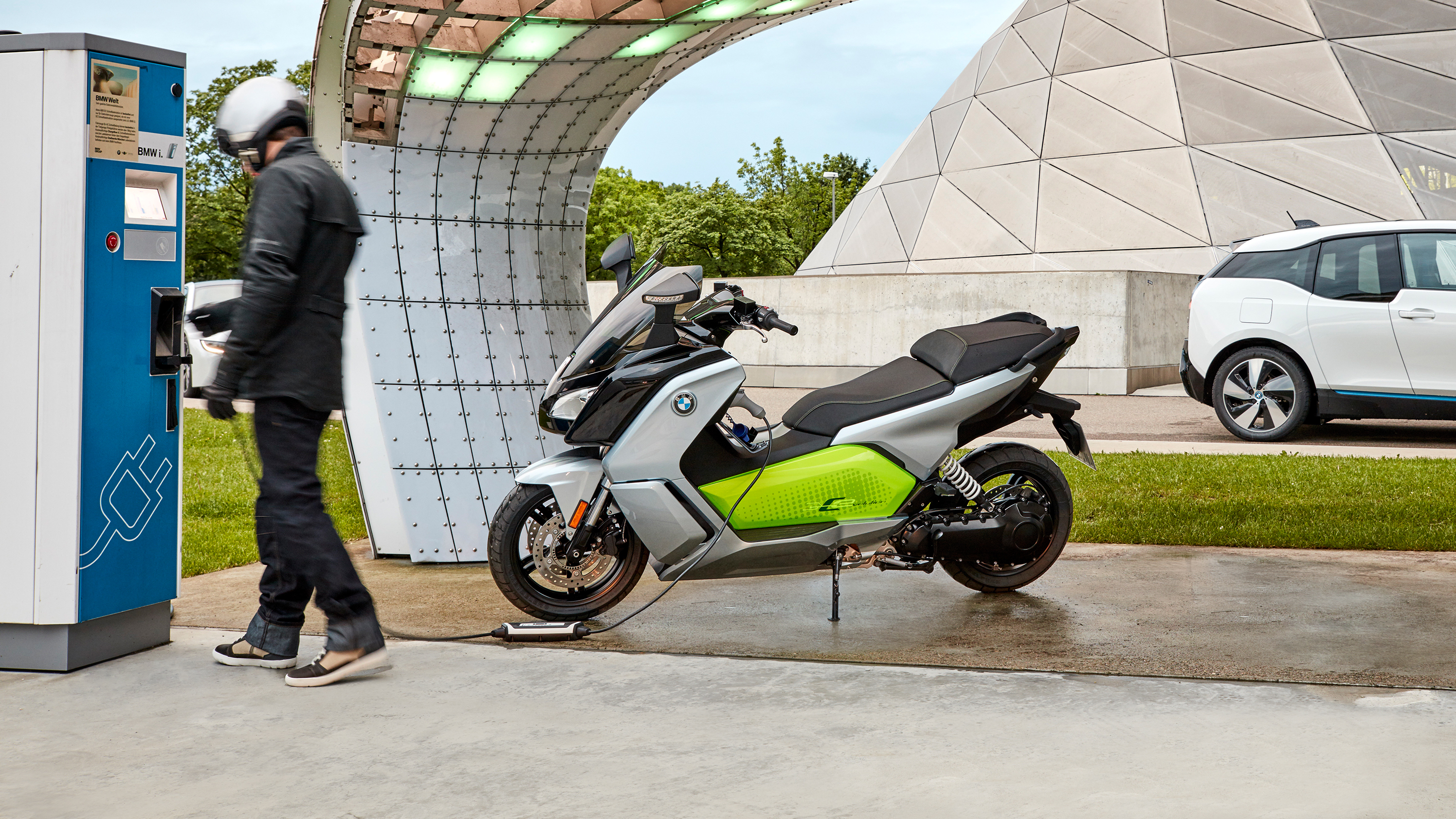 c evolution bmw youtube scooter electric watch