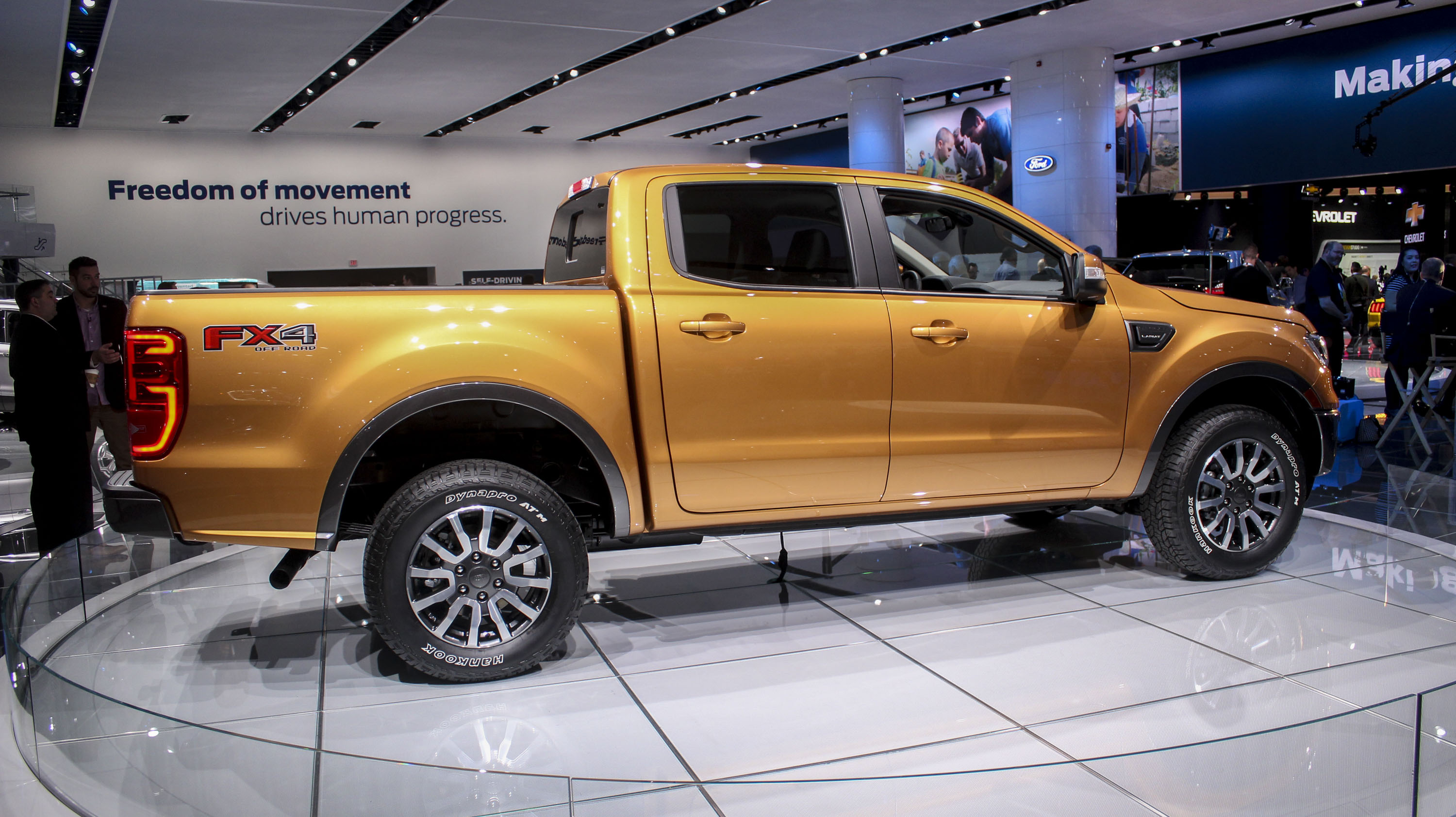 2019 ford ranger top speed