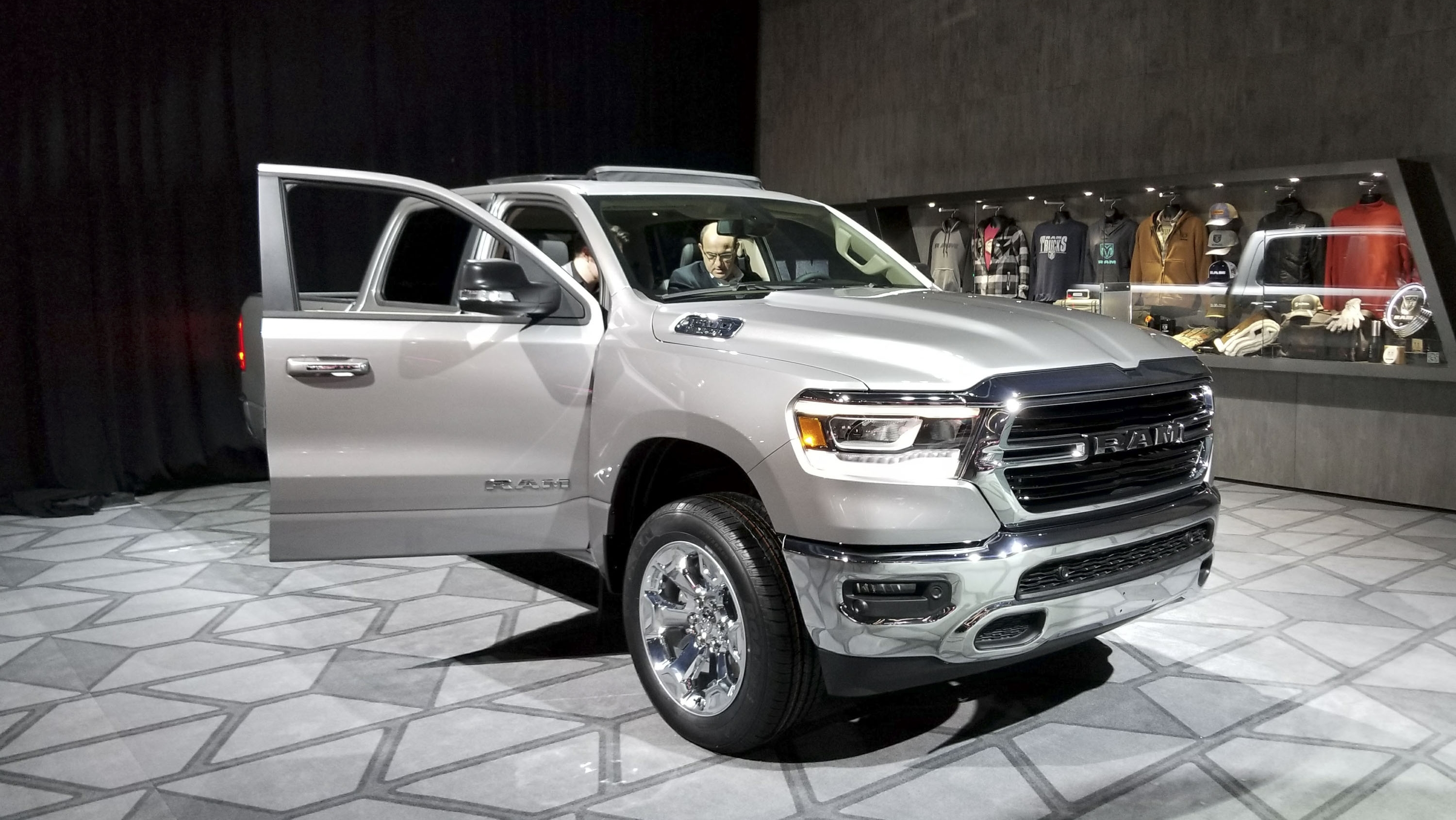All New 2019 Ram 1500 Steels The Show At Detroit News