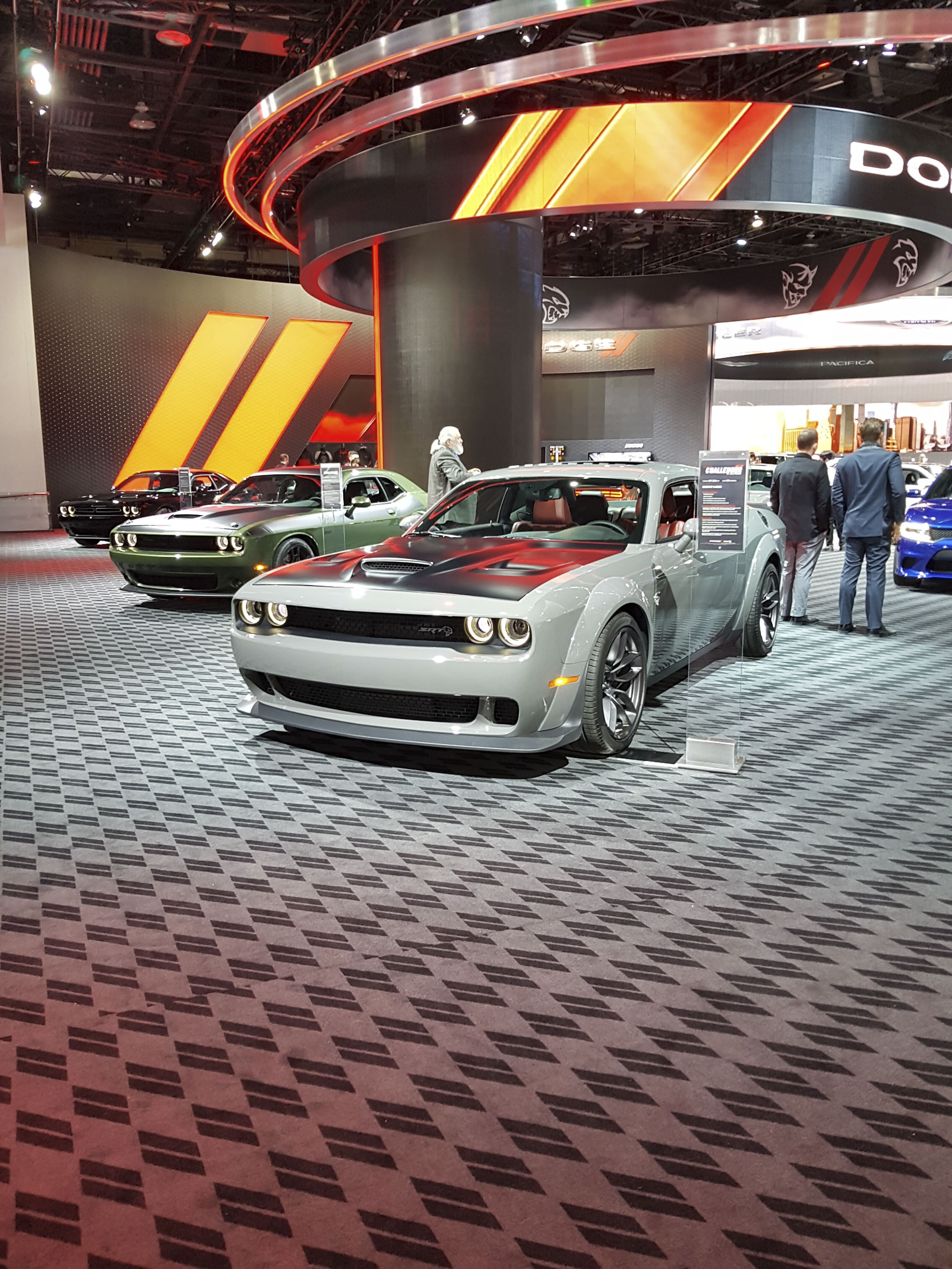 Booth Layout At The Detroit Auto Show Proves FCA Is In Love With The - Car show booth