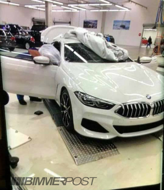 Breaking: BMW 8 Series Leaks With An Ugly Rear End | Top Speed