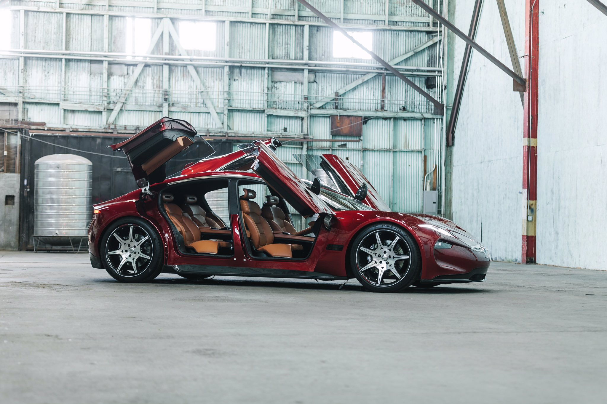 The Fisker Emotion Is A Four Door Lamborghini With Butterfly Doors